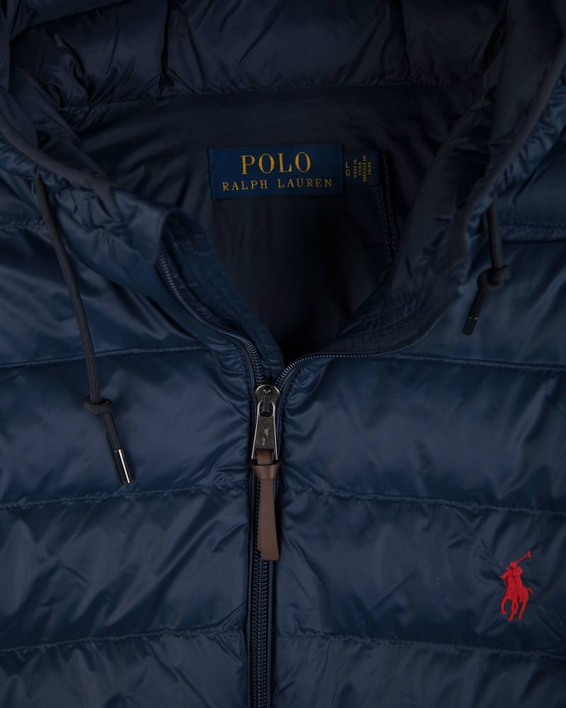 Куртка Ralph Lauren Packable Hooded Down Jacket Navy