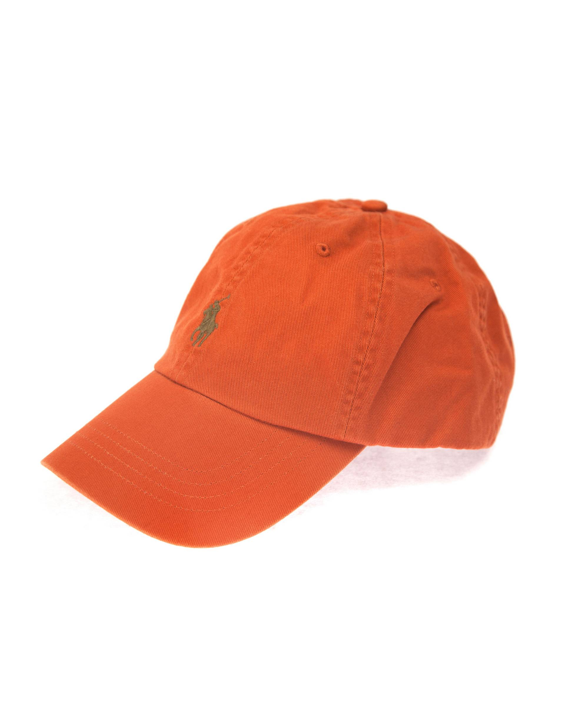 Кепка Ralph Lauren Cotton Chino Baseball Cap Orange