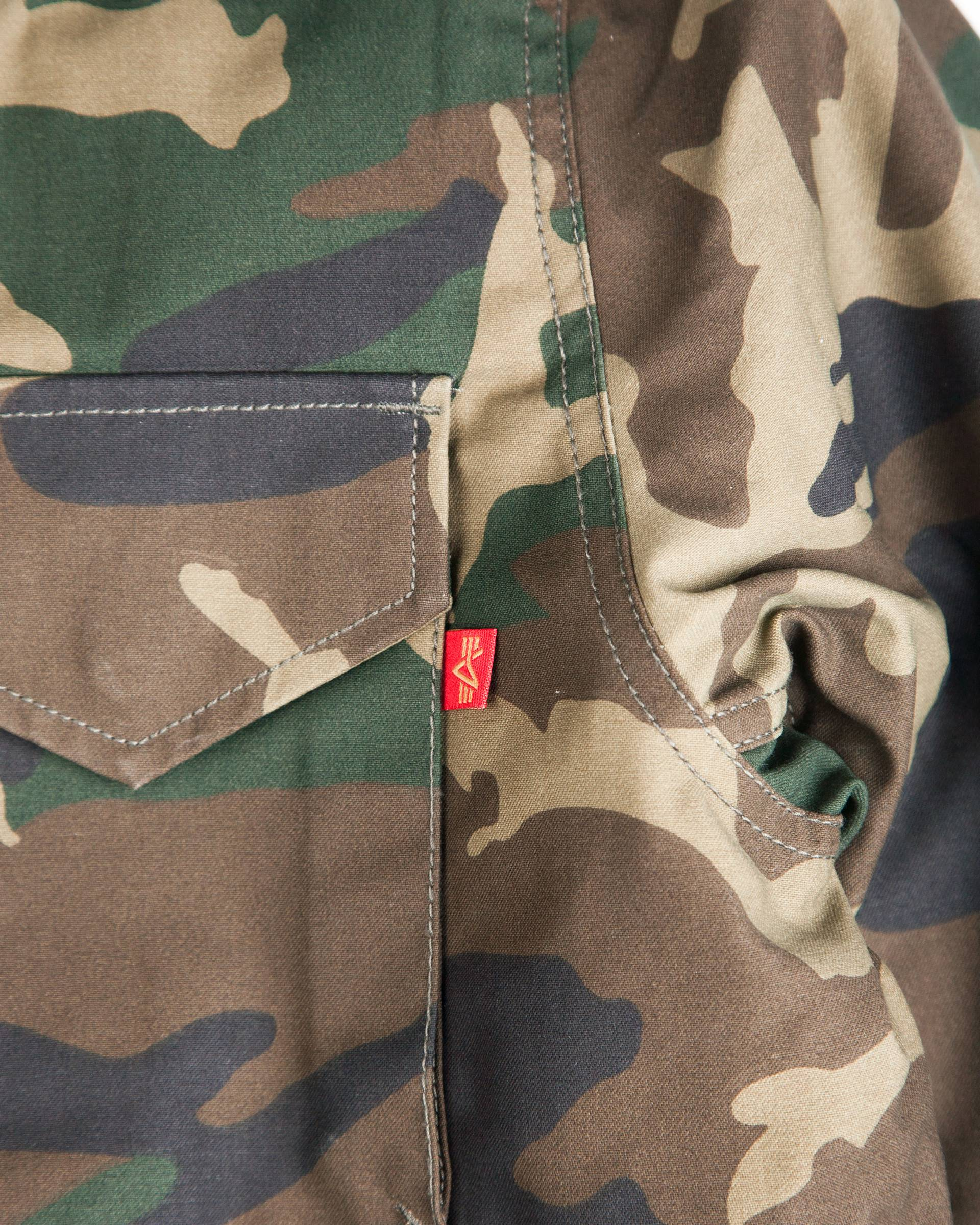 Куртка Alpha Industries Vintage M-65 Camo Jacket