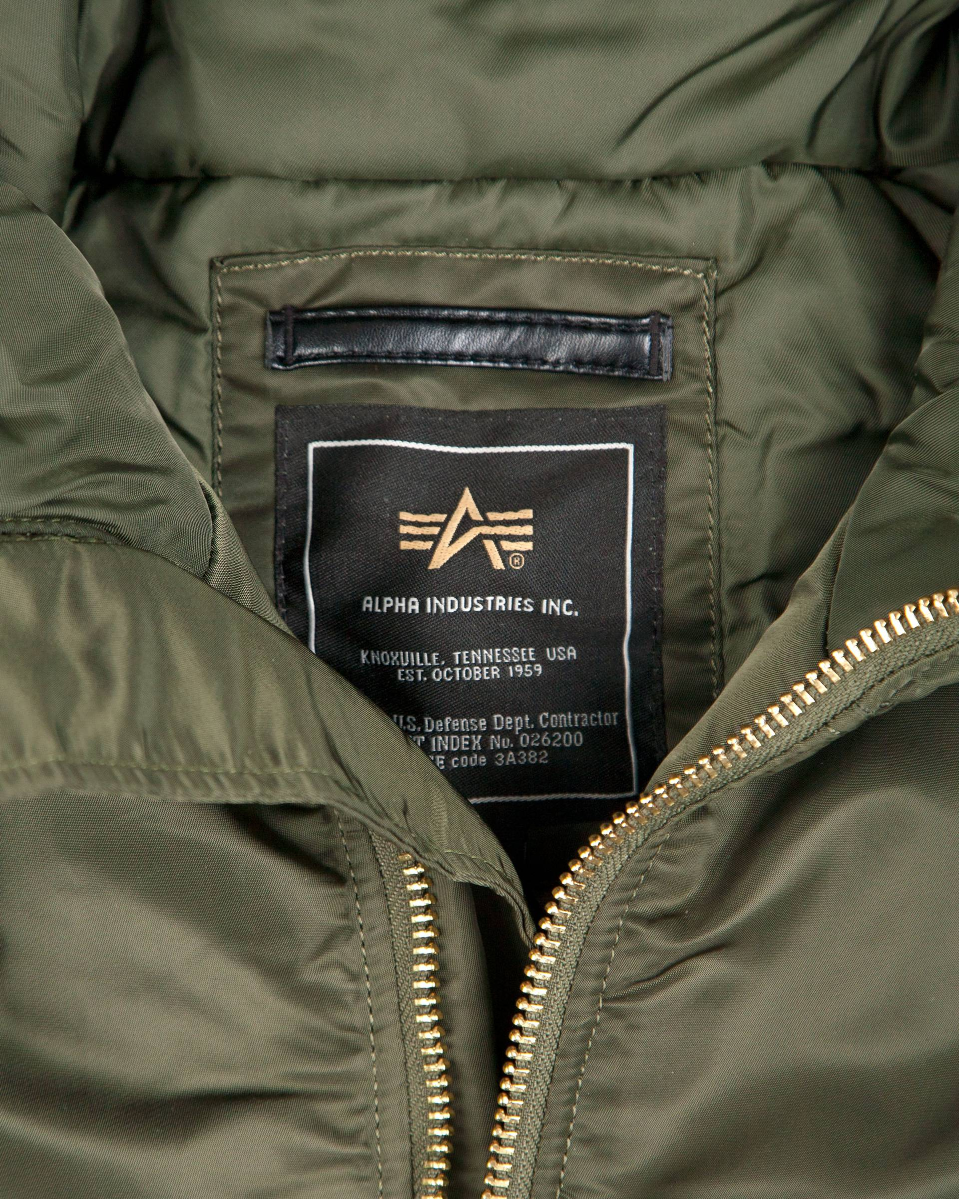 Куртка Alpha Industries Parka Olive