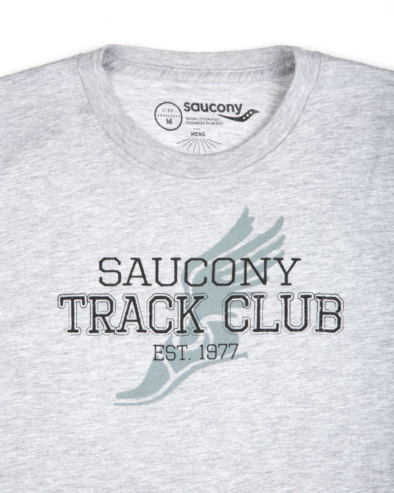 Футболка Saucony Track Club Grey T-Shirt