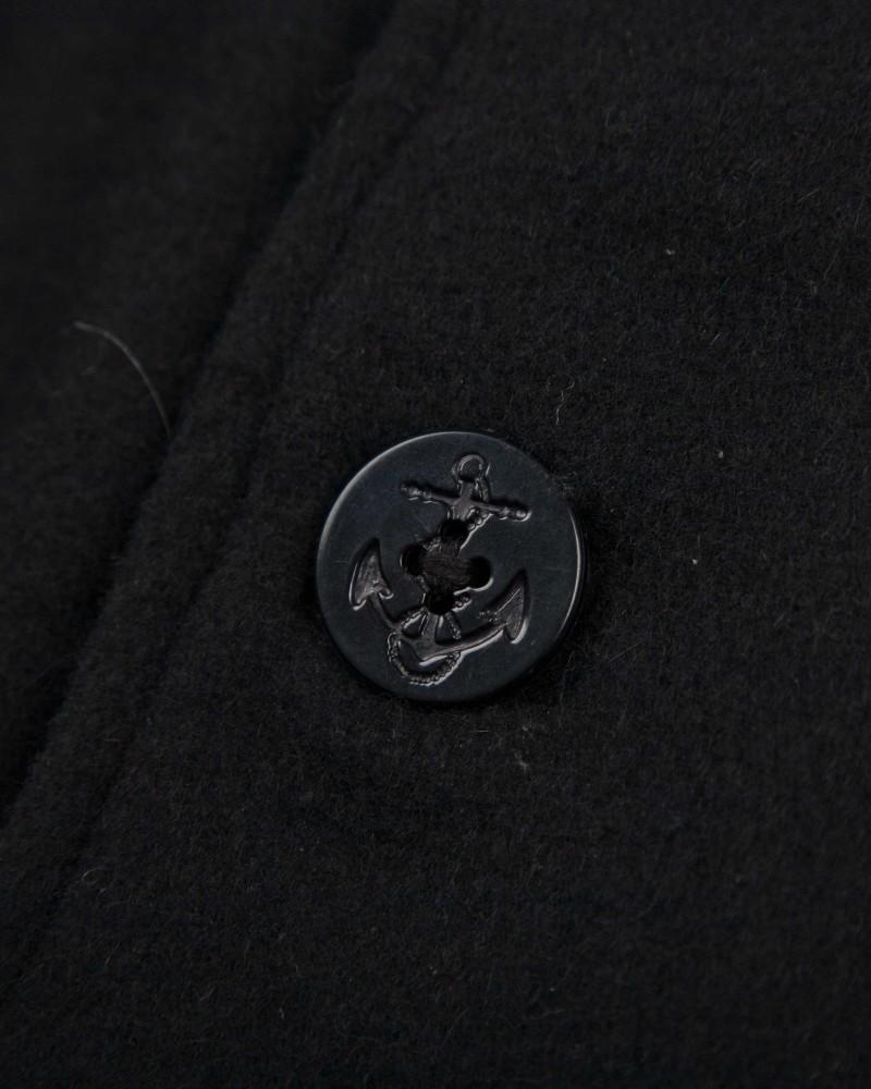 Бушлат Maharishi Black Navy Marine Coat