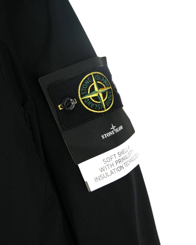 Куртка Stone Island Soft Shell-R Black Jacket