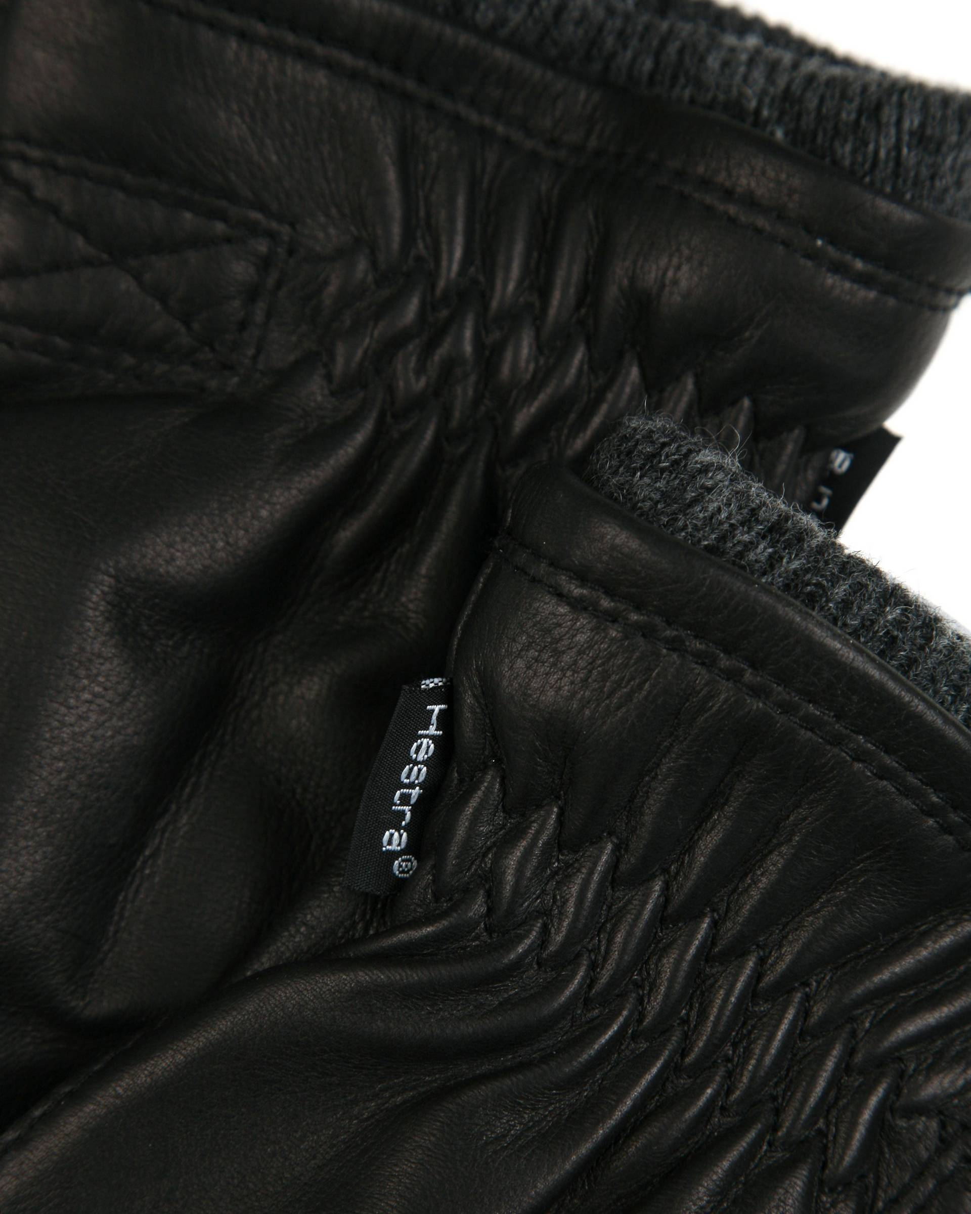 Перчатки Hestra 2047 Black Leather Gloves