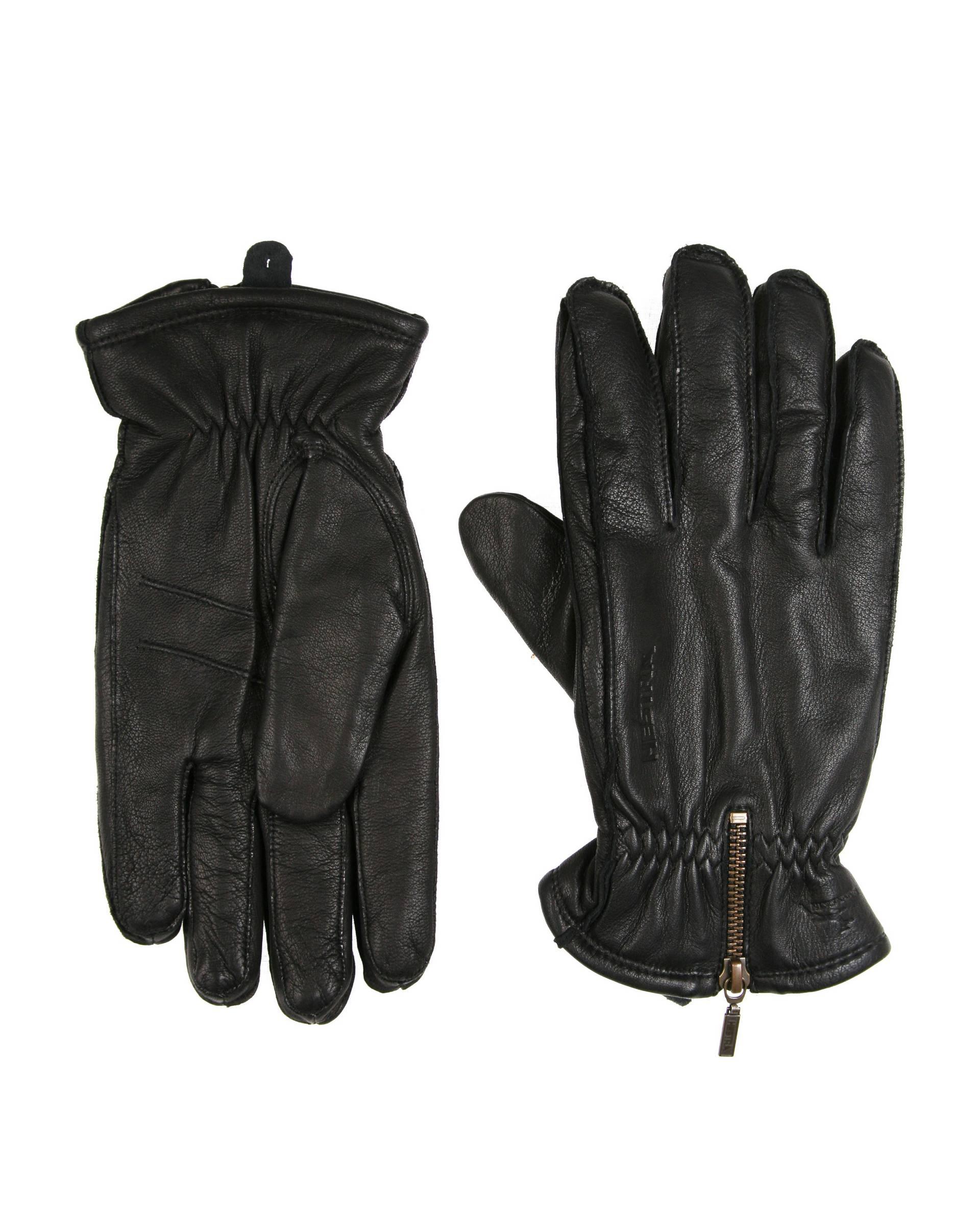 Перчатки Hestra 20490 Black Leather Gloves
