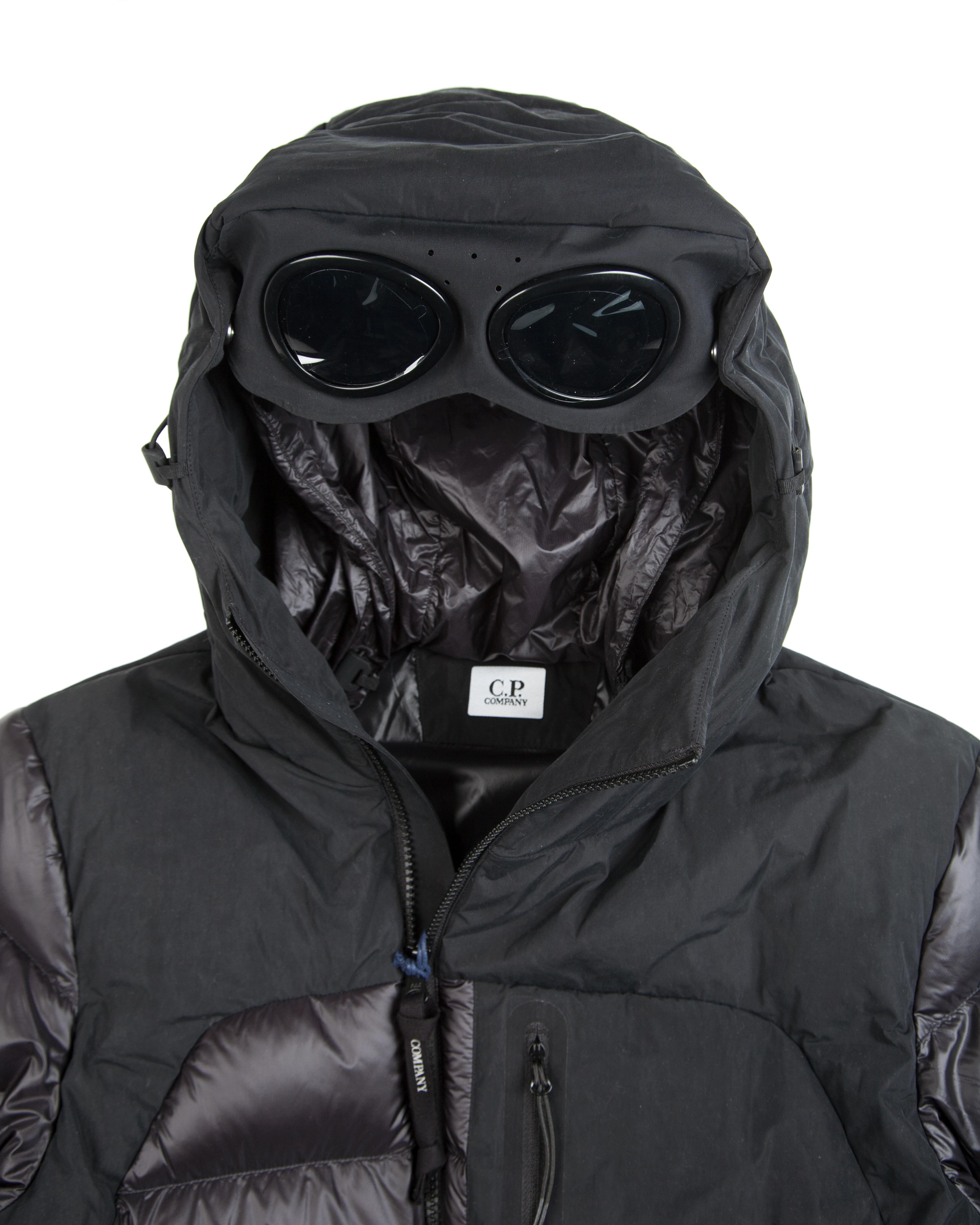 Куртка C.P.Company Down Padded In M Caviar Black Jacket