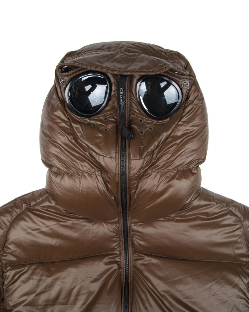 Пуховик C.P.Company D.D. Shell Goggle Explorer Down Jacket Olive