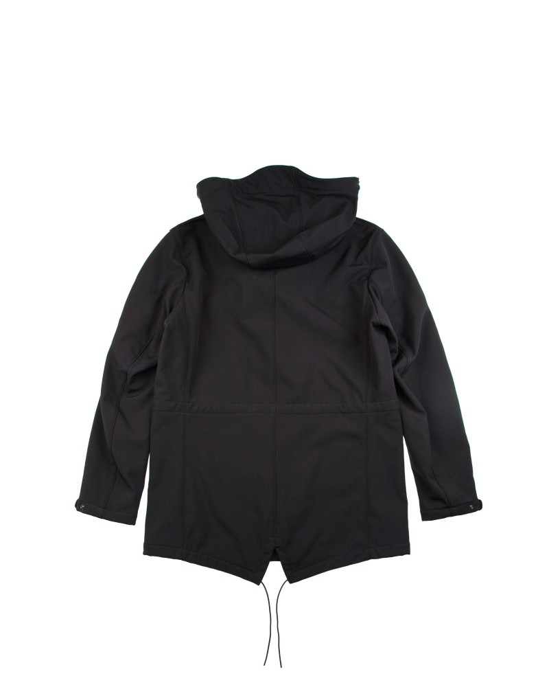 Парка C.P.Company Black Soft Shell Parka