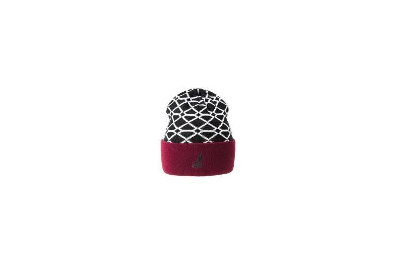 Шапка Kangol Super Reversible Beanie Black Hat