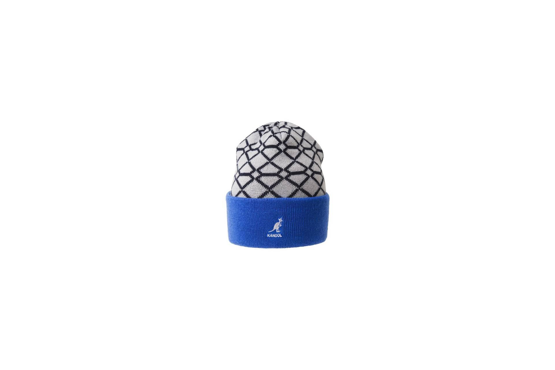 Шапка Kangol Super Reversible Beanie Grey Hat