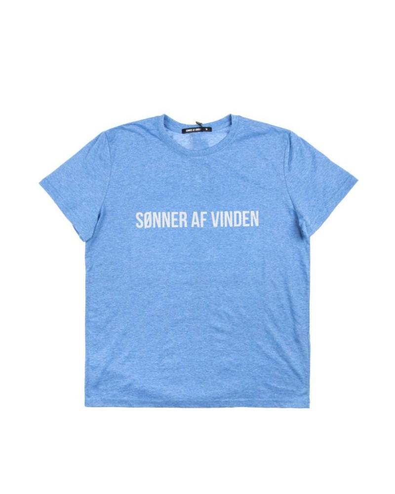 Футболка Sonner Af Vinden Reflective Light Blue Tee