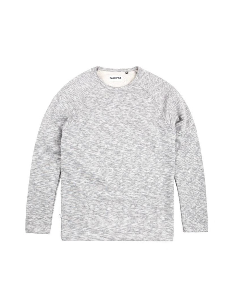 Свитшот Sailor Paul Heather Grey Reglan Sweat