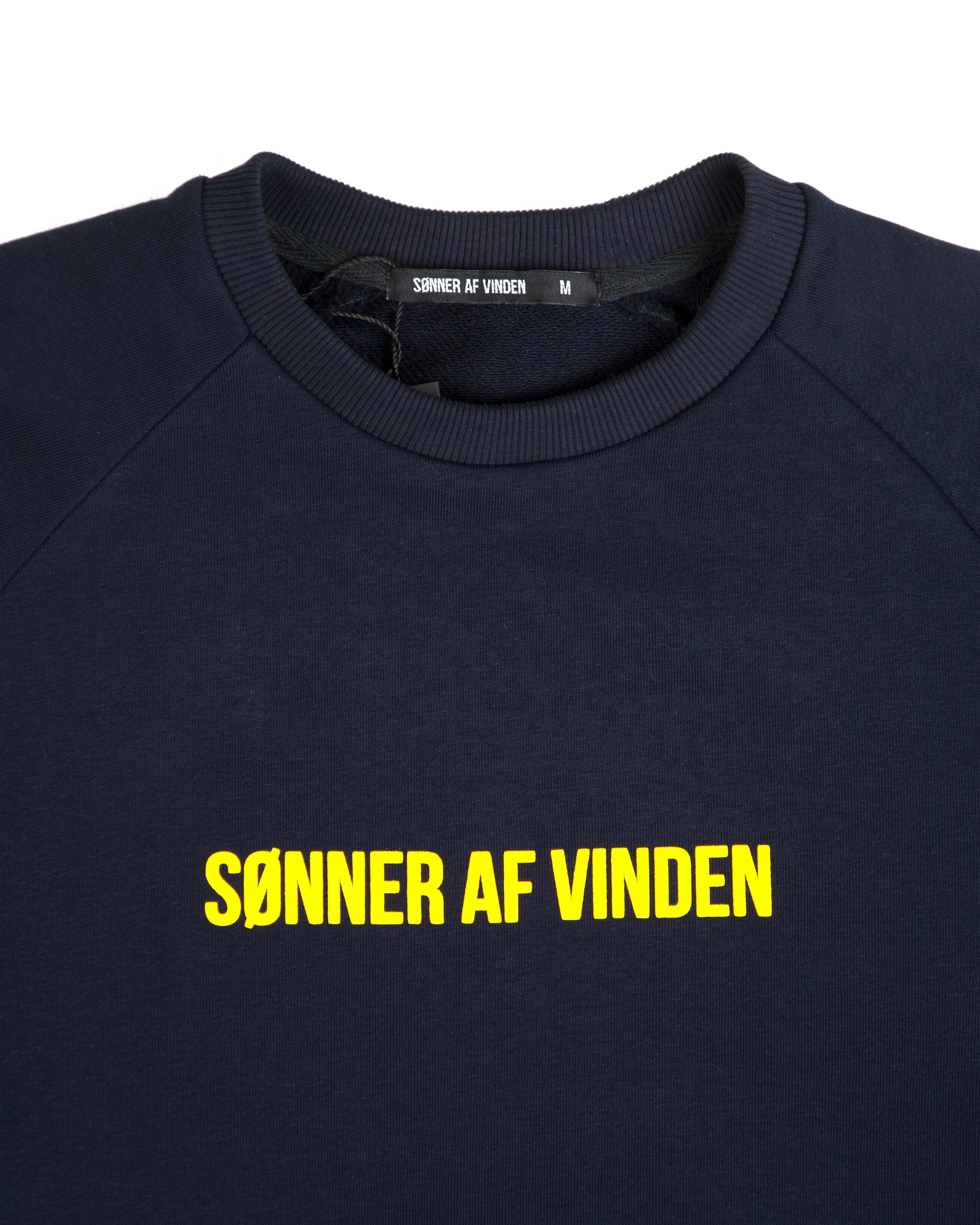 Свитшот Sonner Af Vinden Navy Camo Cross Sweat