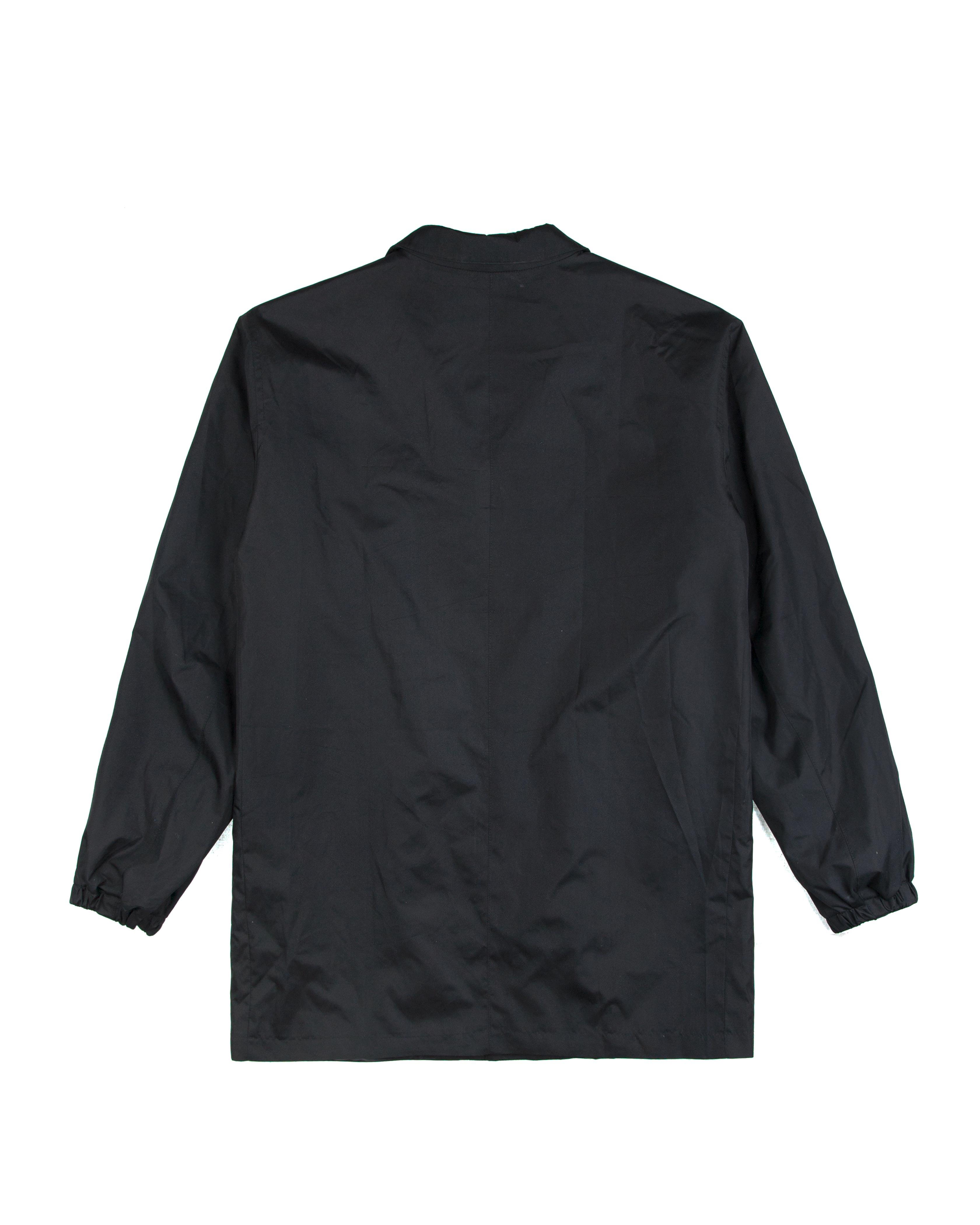 Плащ Hide Black Coat