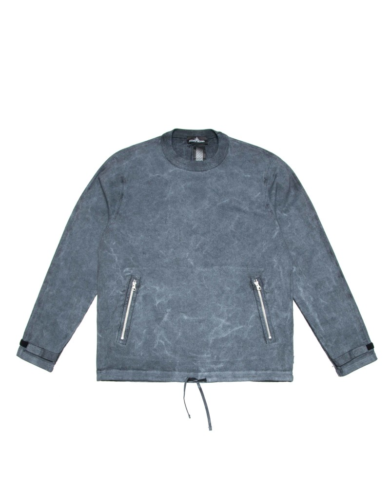 Свитшот Stone Island Shadow Blue Sweatshirt
