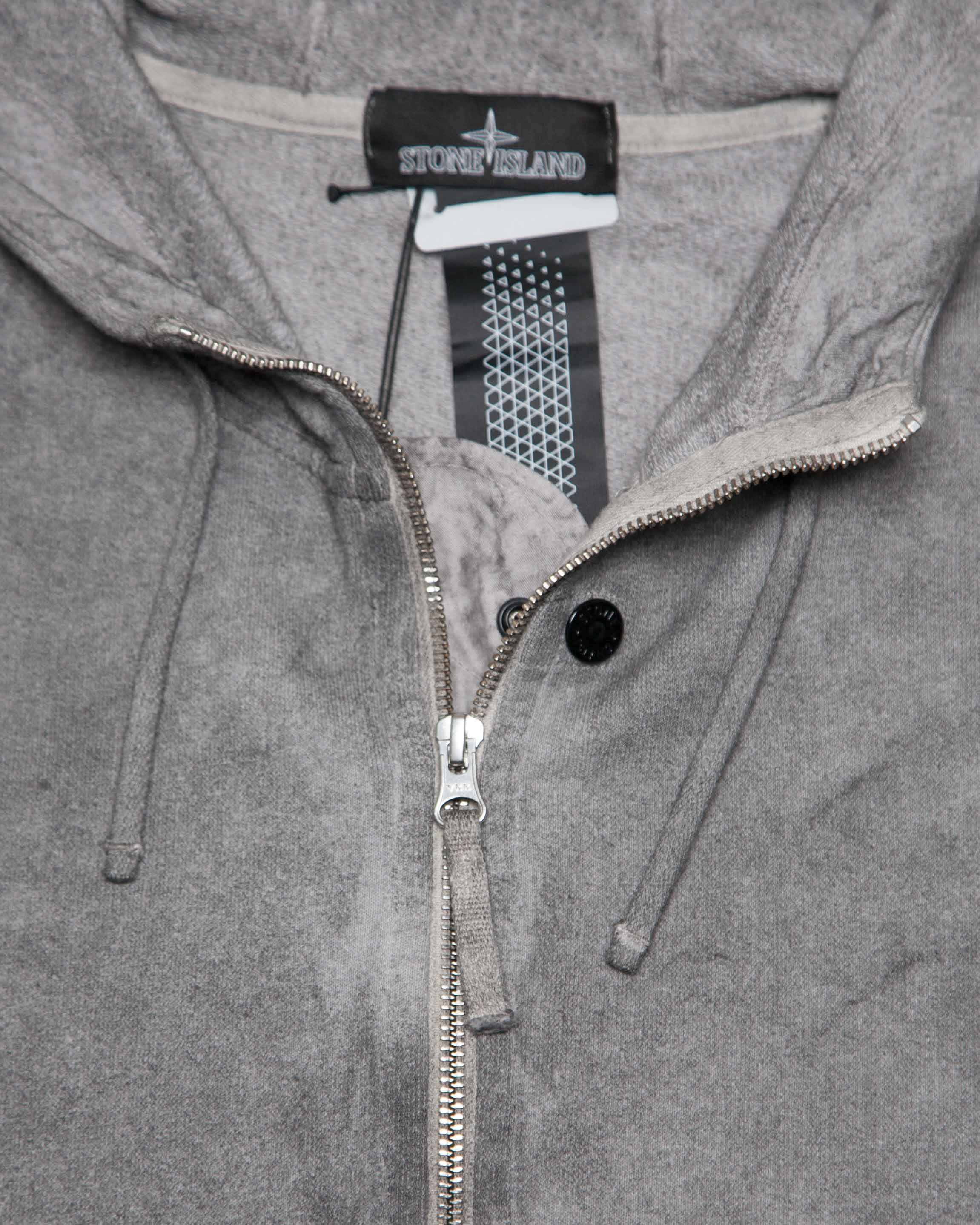Толстовка Stone Island Shadow Grey Hoody