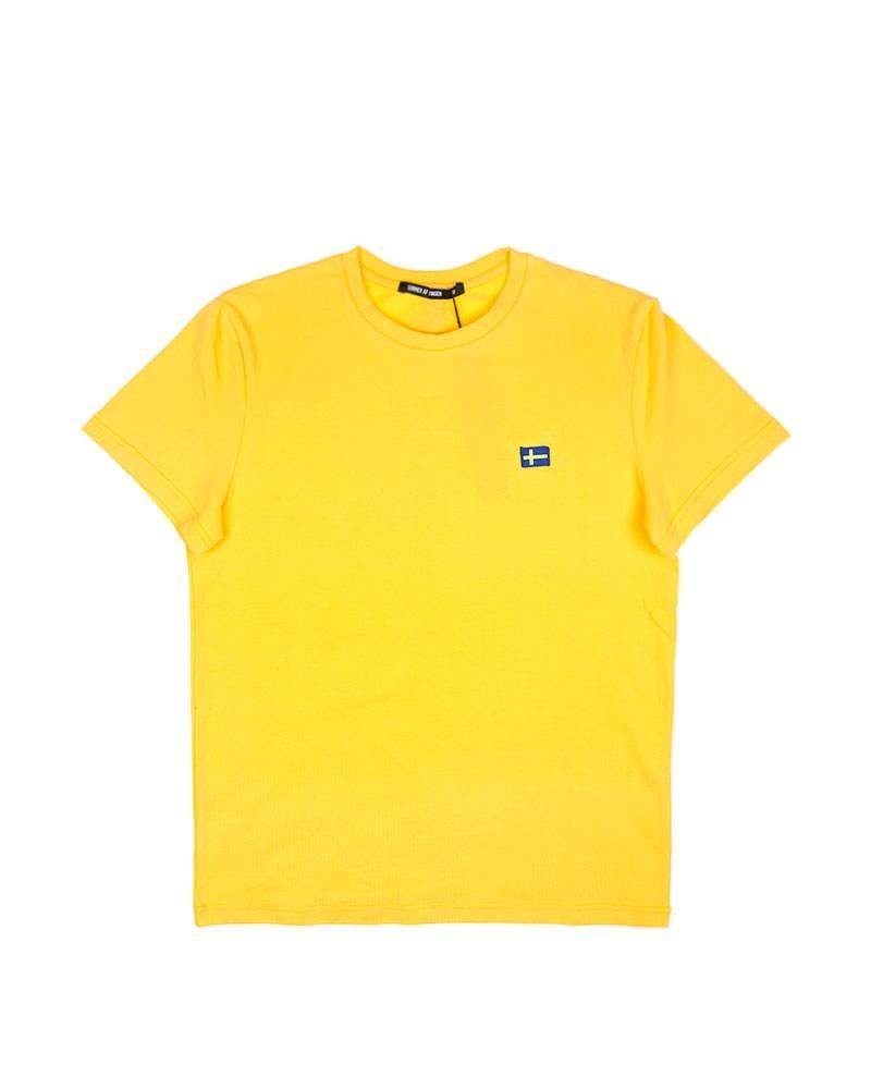 Футболка Sonner Af Vinden Yellow Swedish Tee