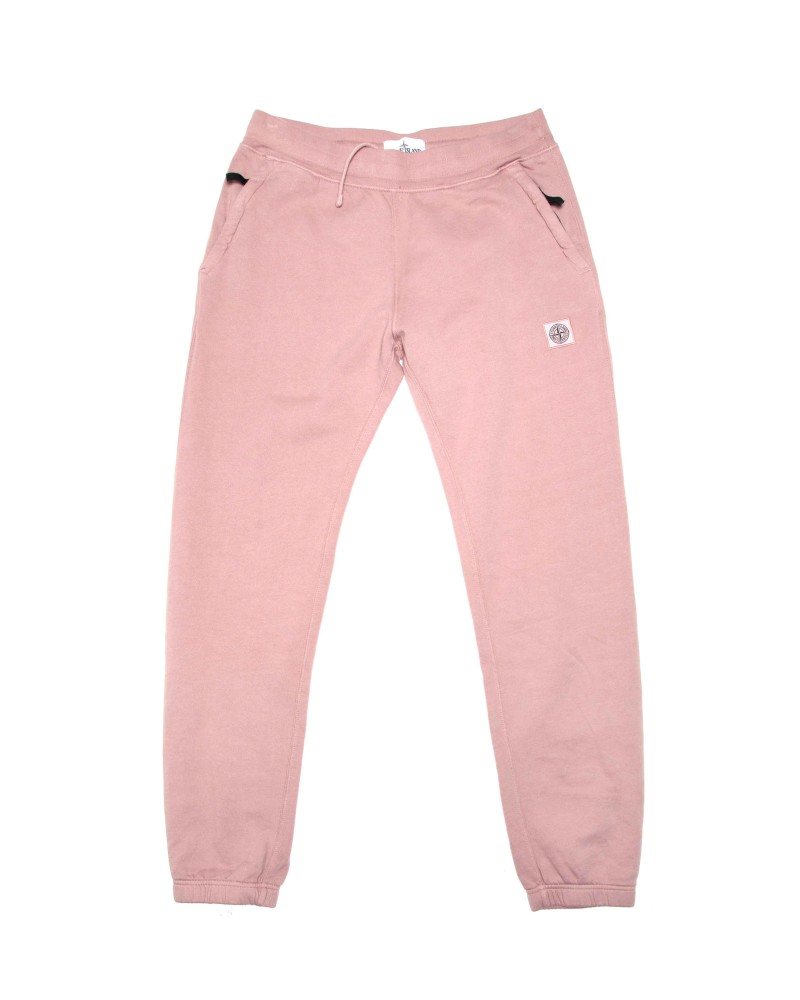 Спортивные Брюки Stone Island Patch Program Pink Cotton Pants
