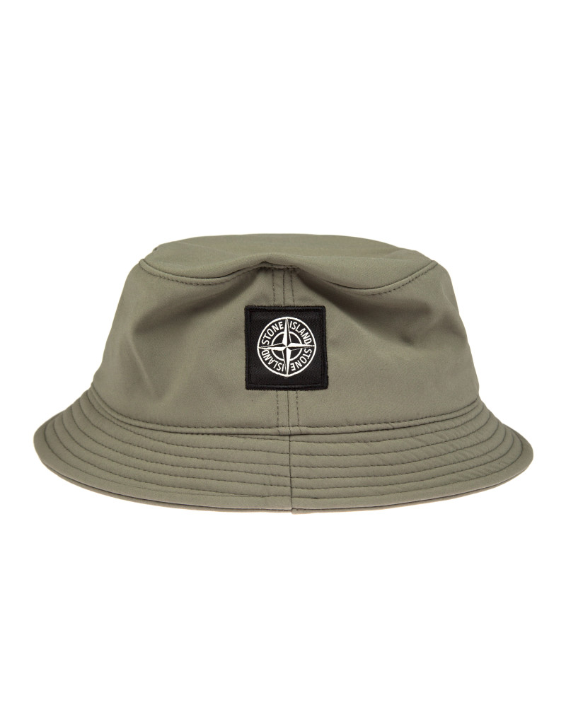 Панама Stone Island Soft Shell-R Grey Bucket Hat