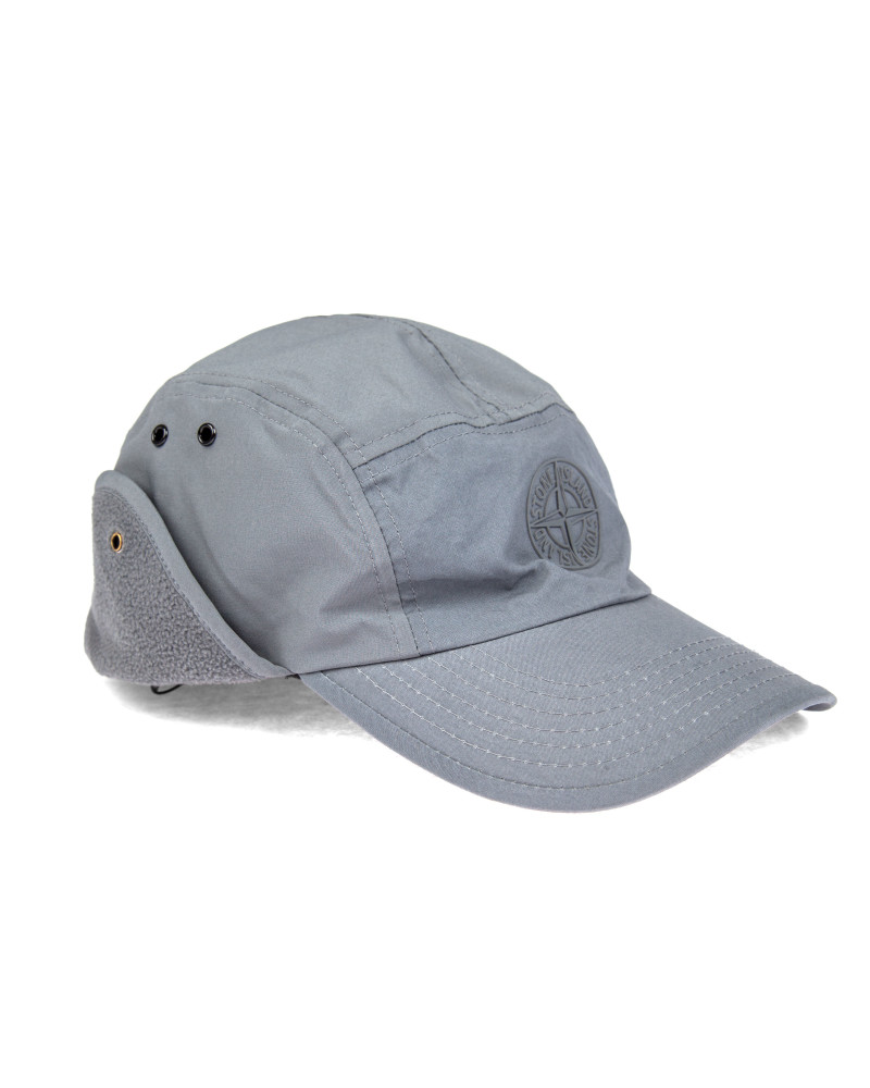 Кепка Stone Island Soft Shell-R Grey Cap