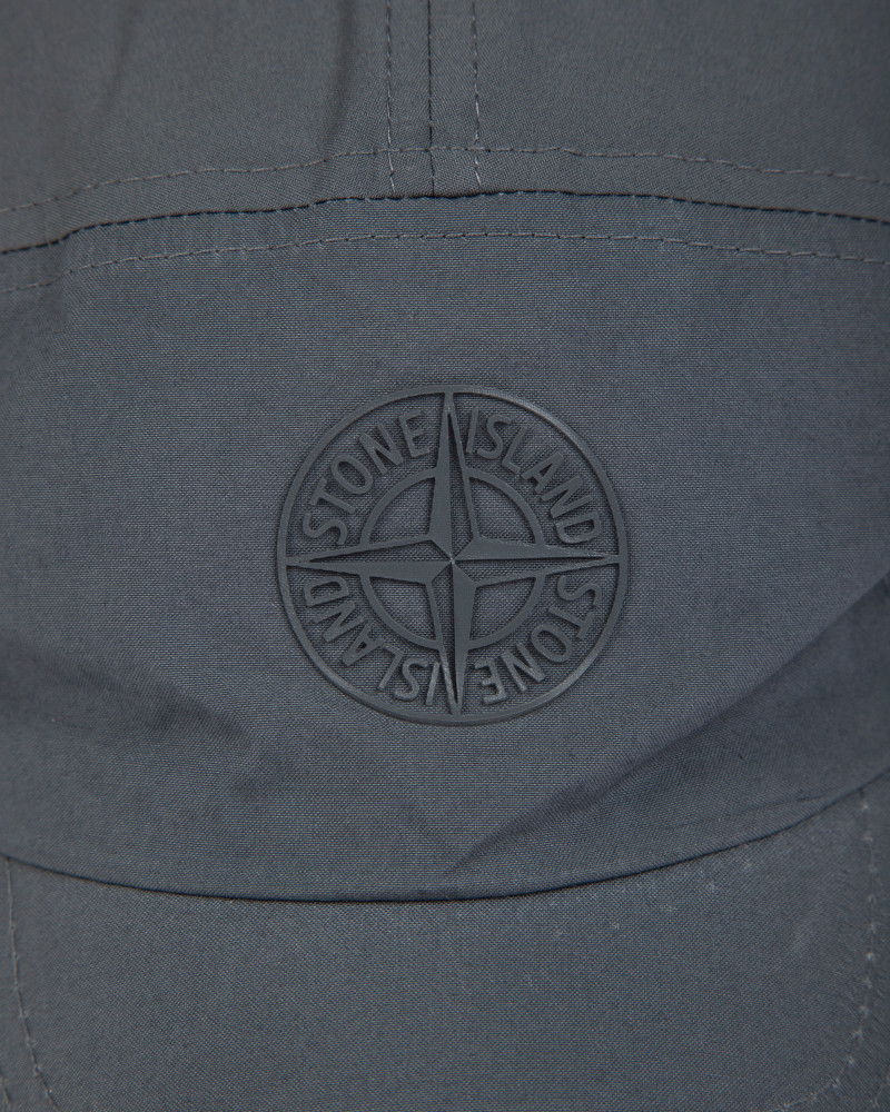 Кепка Stone Island Soft Shell-R Grey Cap