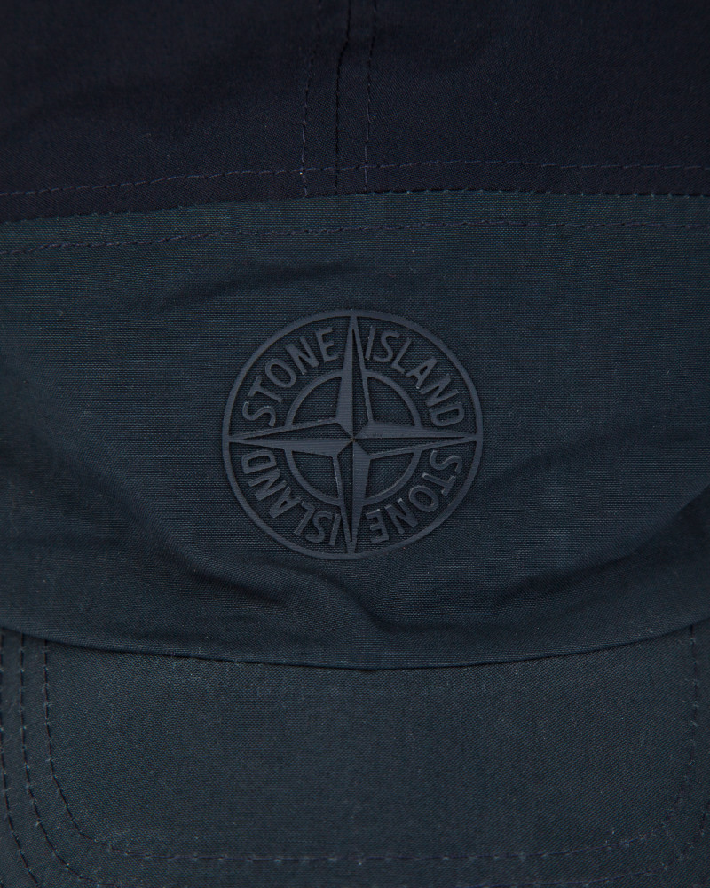 Кепка Stone Island Soft Shell-R Navy Cap