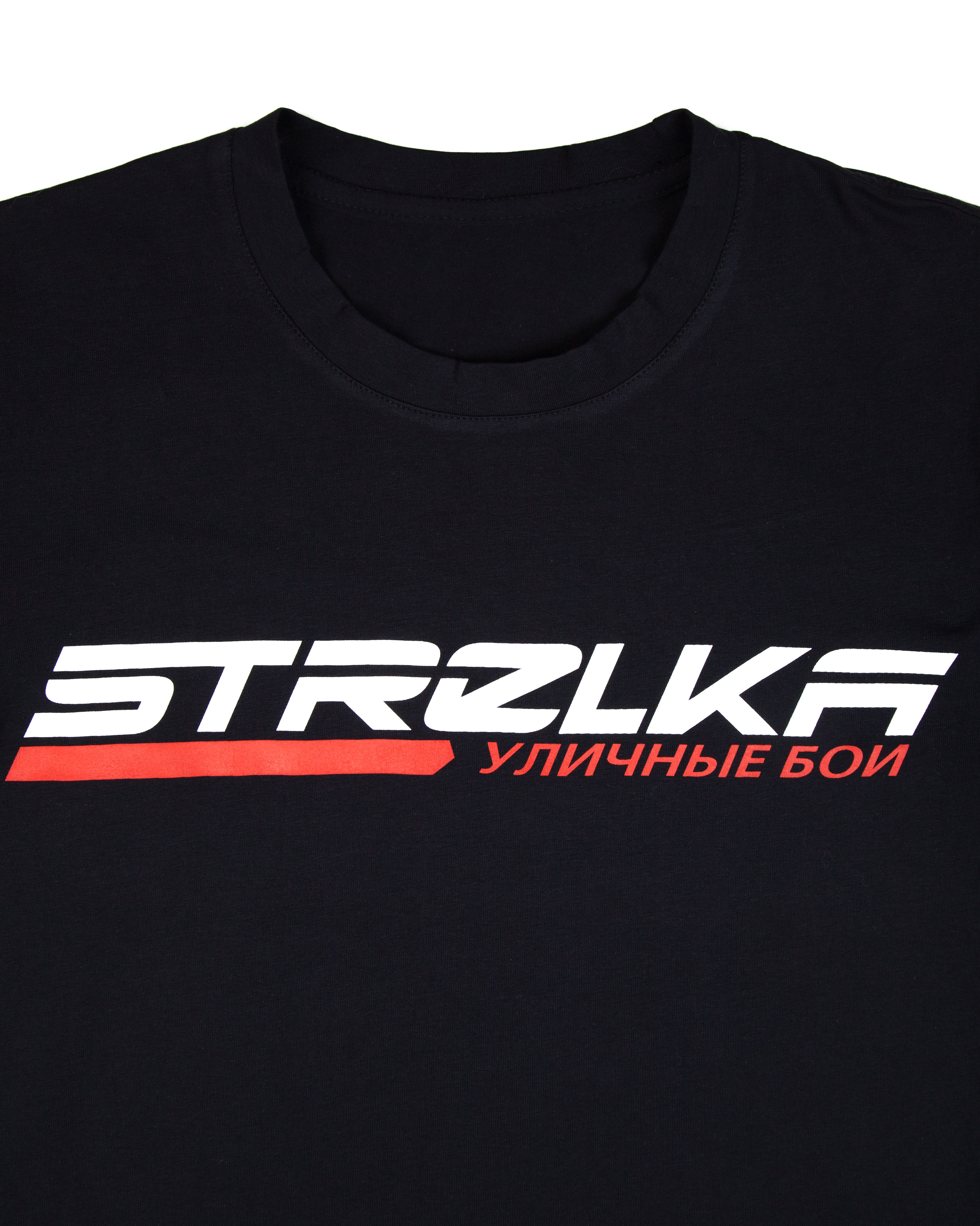 Футболка STRELKA Black T-Shirt