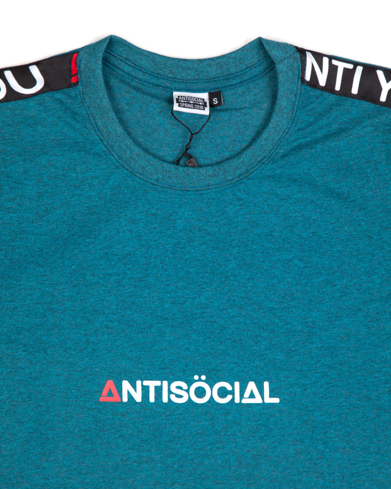 Футболка ANTISOCIAL Base Sport Mint