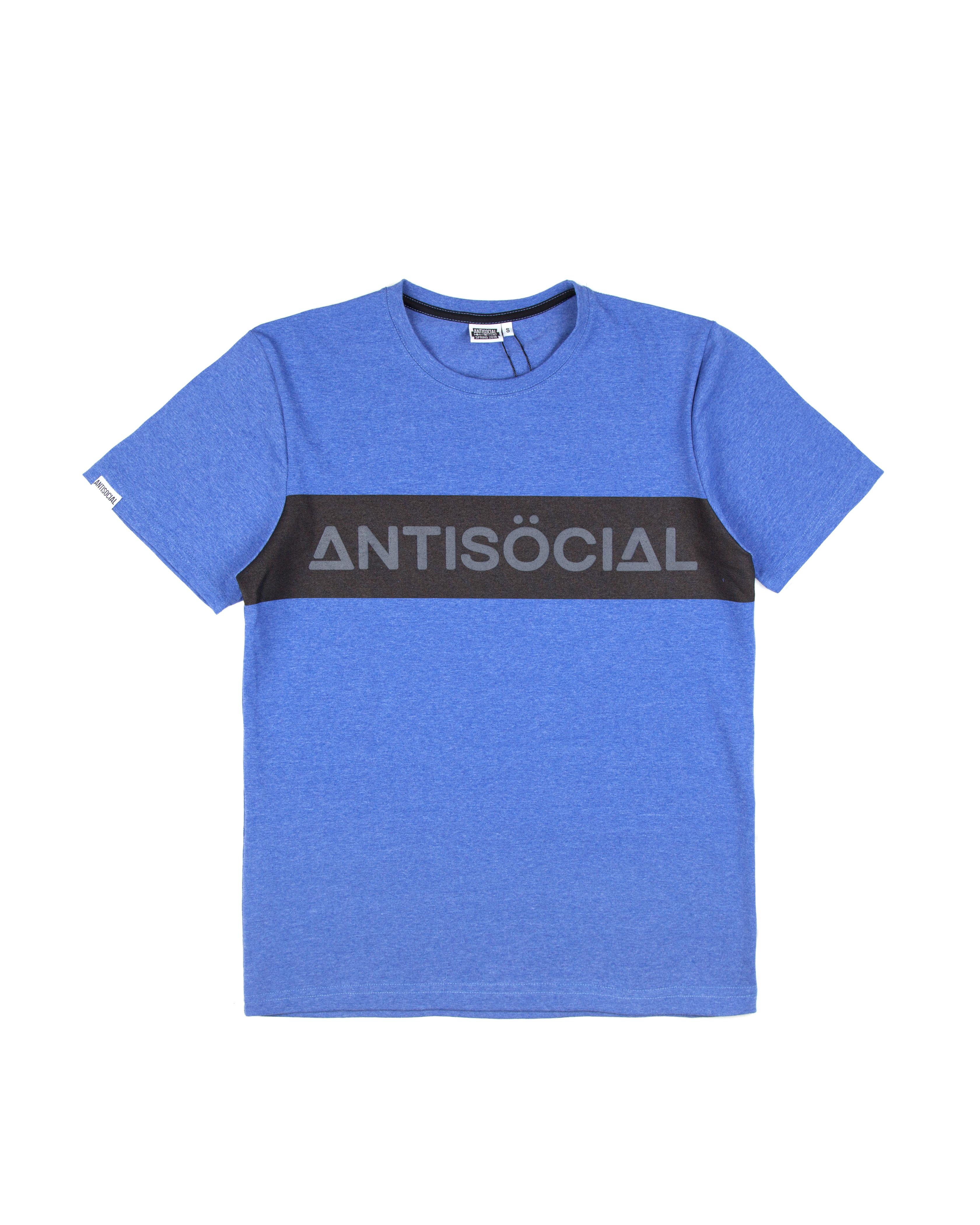 Футболка ANTISOCIAL Classic Sport Blue