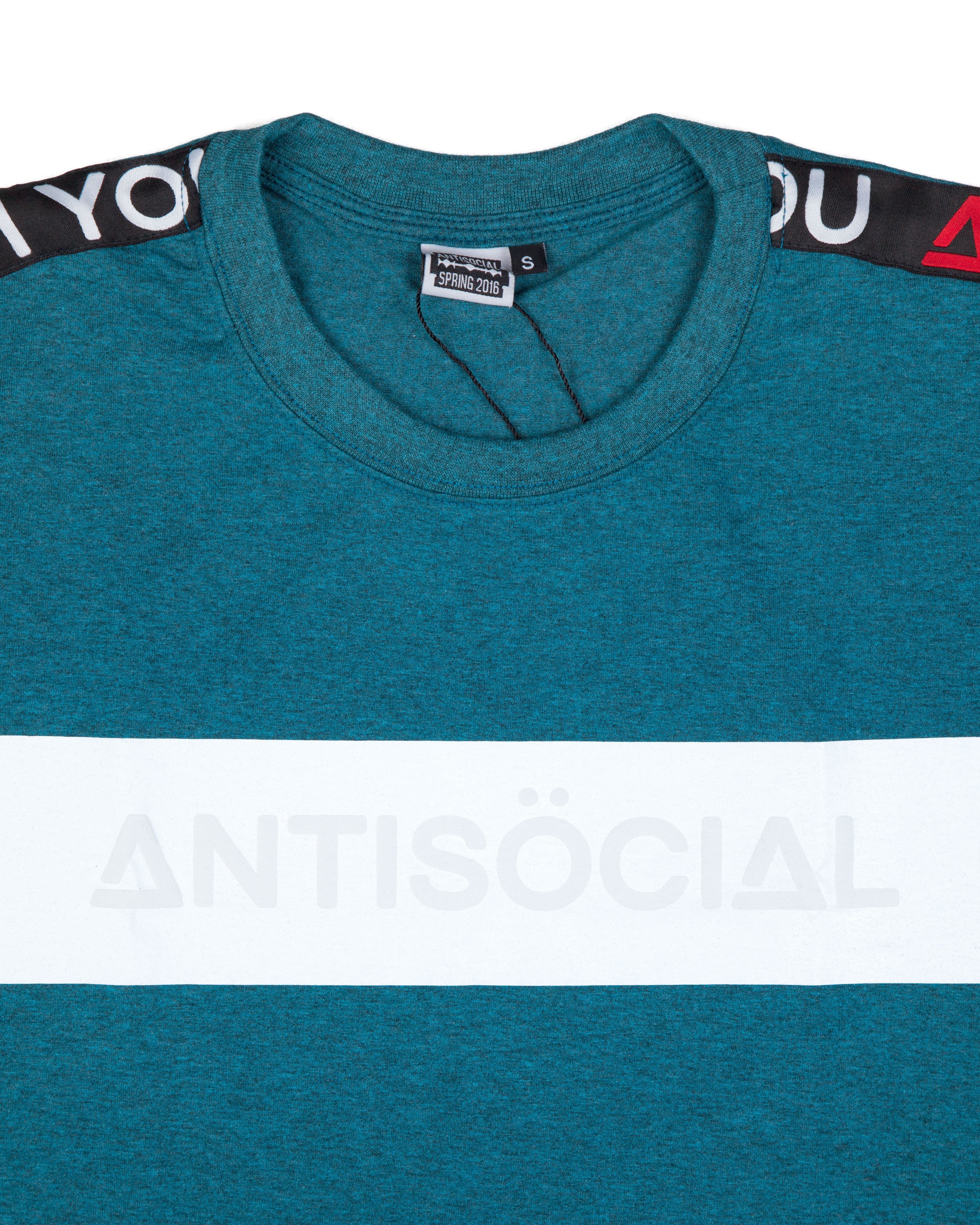 Футболка ANTISOCIAL Classic Sport Mint
