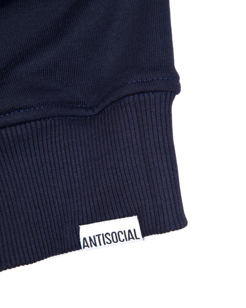 Свитшот ANTISOCIAL Reflective Logo Navy