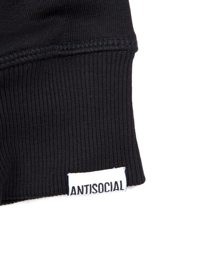 Толстовка ANTISOCIAL Reflective Logo Black