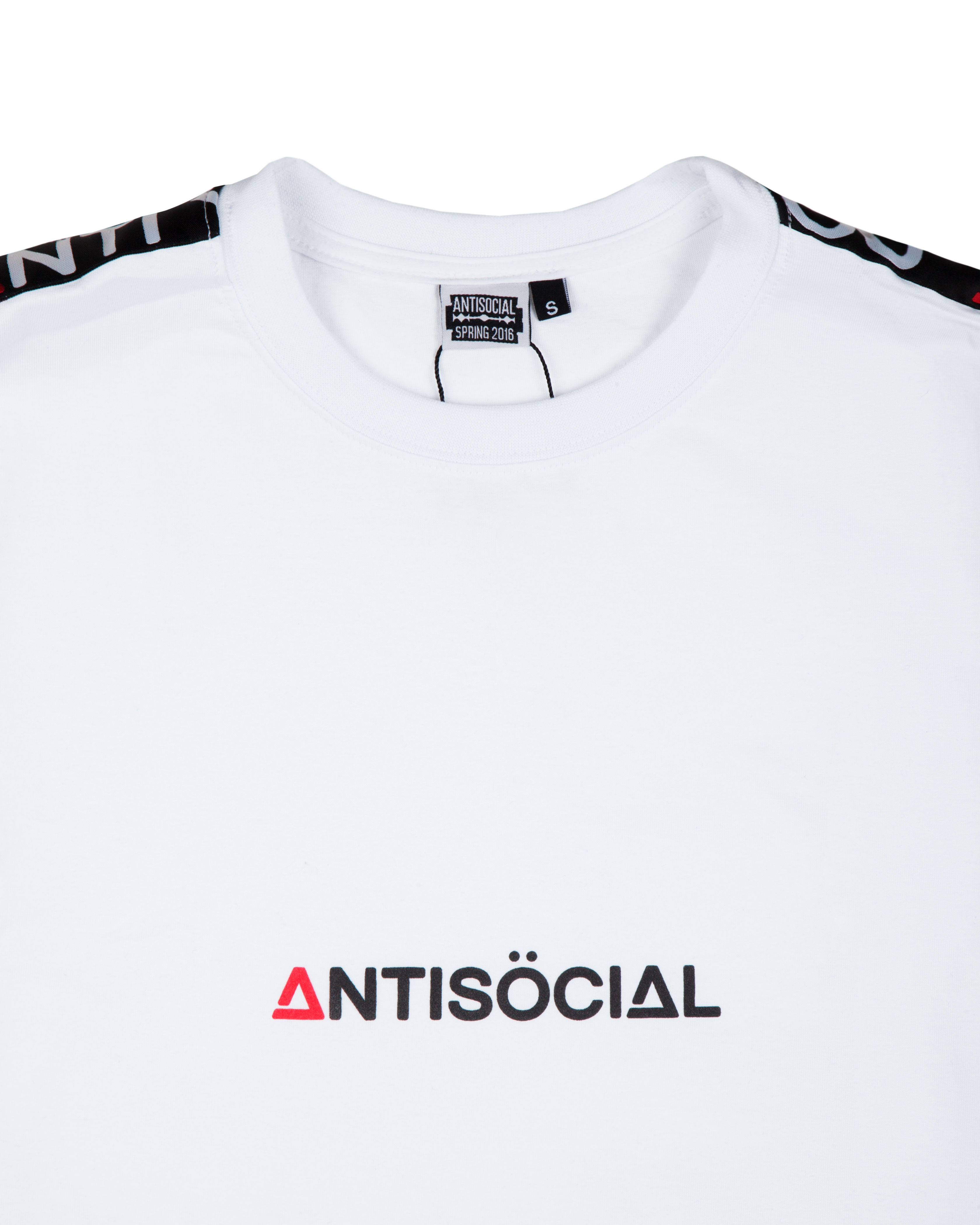 Футболка ANTISOCIAL Base Sport White