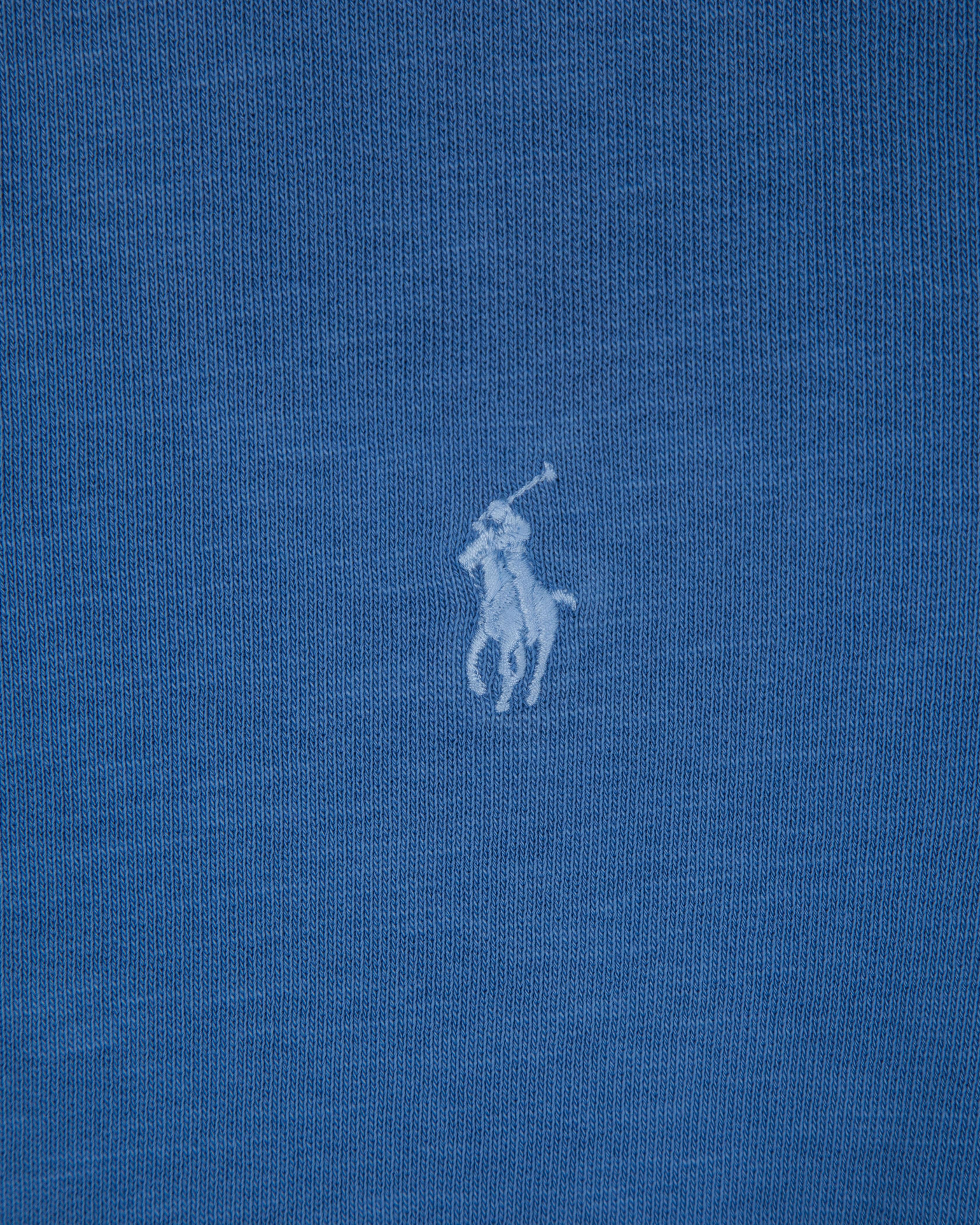 Свитшот Ralph Lauren Blue Crew Cotton Sweat