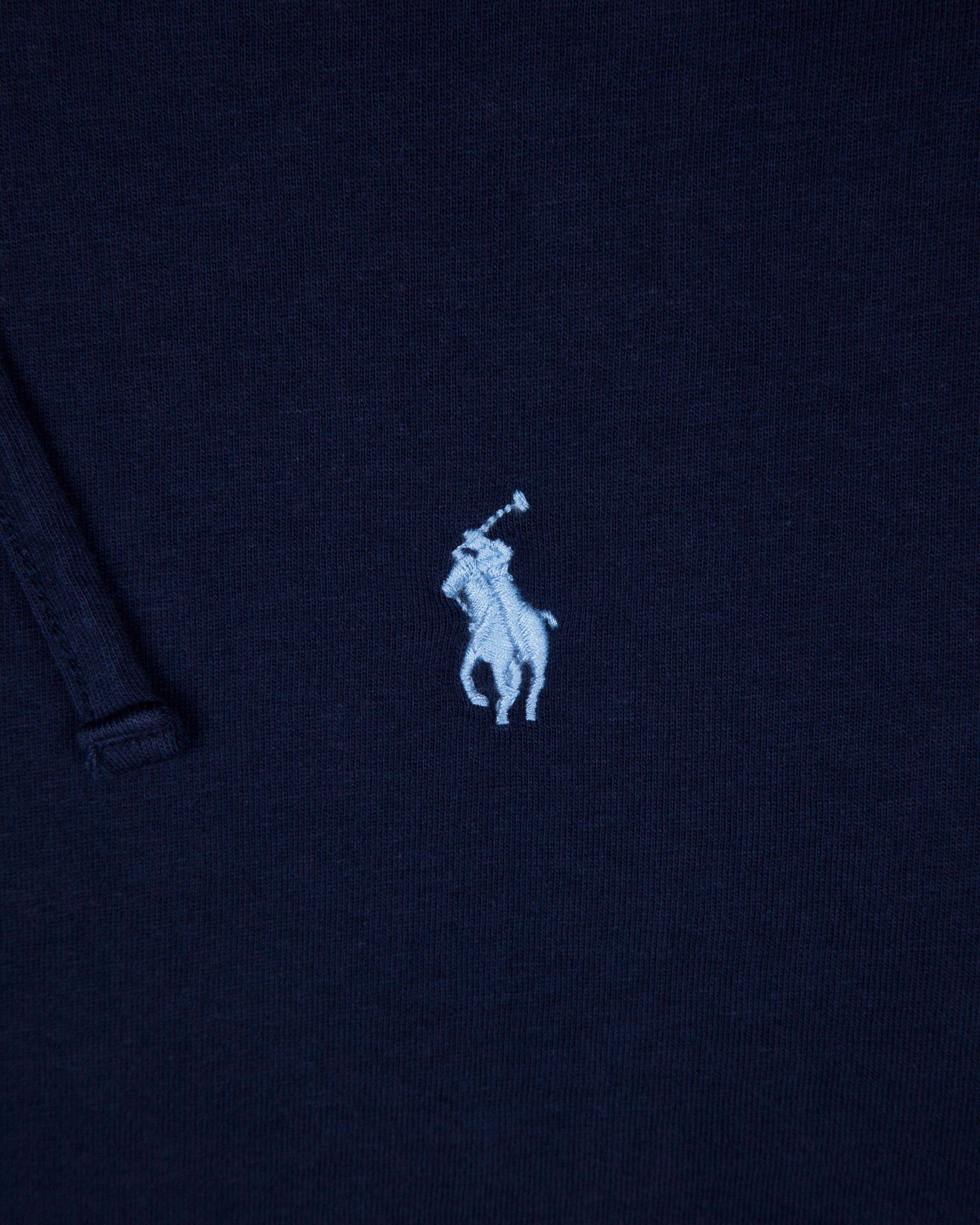 Лонгслив Ralph Lauren Navy Hooded LongSleeve