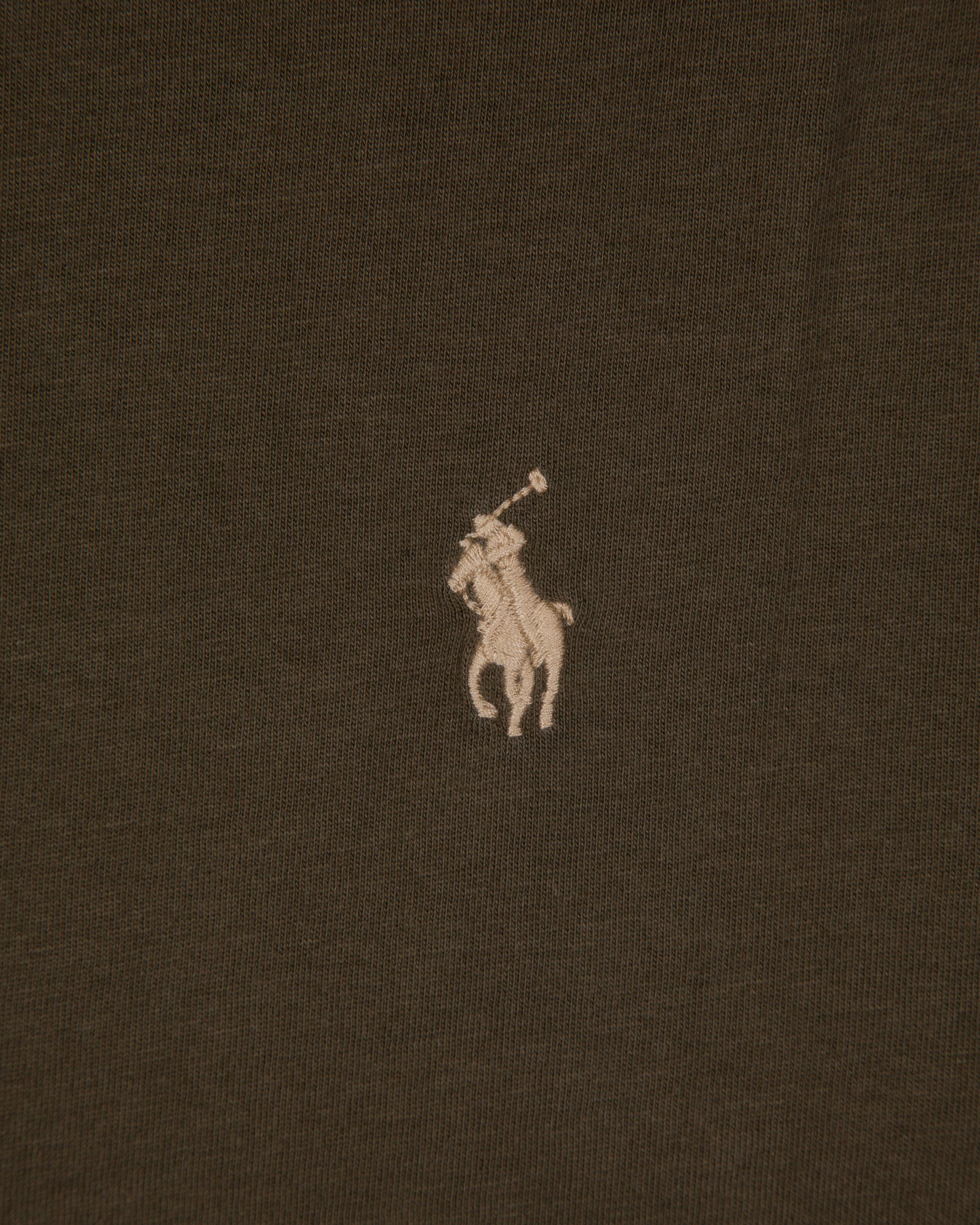 Лонгслив Ralph Lauren Olive Hooded LongSleeve