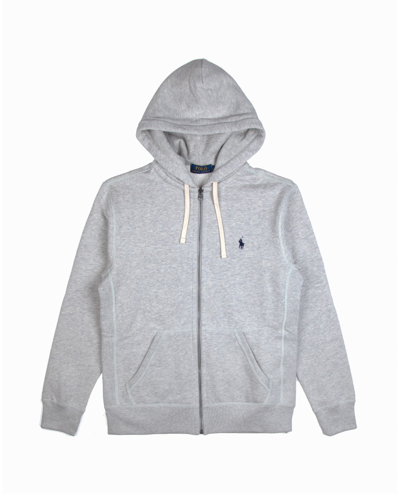 Толстовка Ralph Lauren Light Grey Cotton Hoody