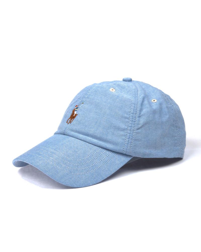 Кепка Ralph Lauren BSR Blue Classic Baseball Cap
