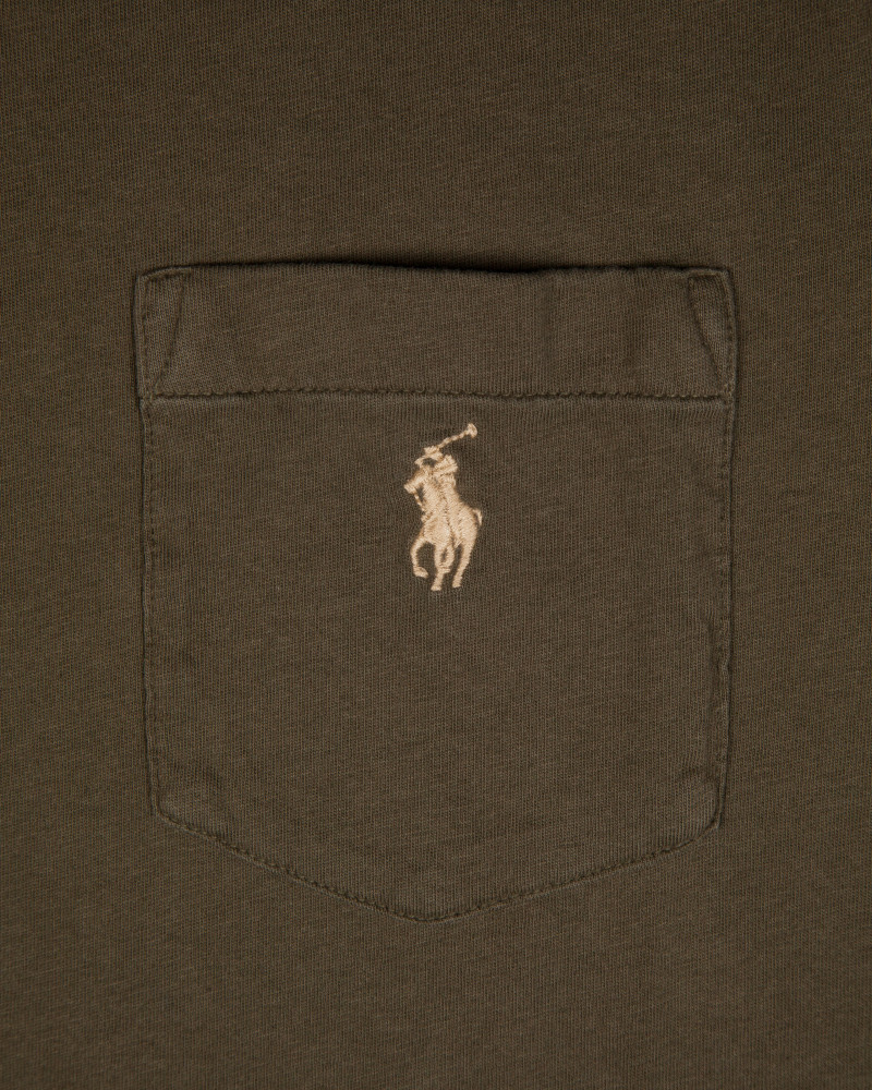 Футболка Ralph Lauren Pocket Defender Green Tee