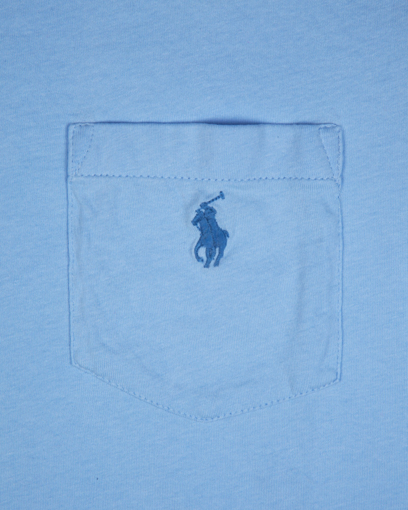 Футболка Ralph Lauren Pocket Blue Tee