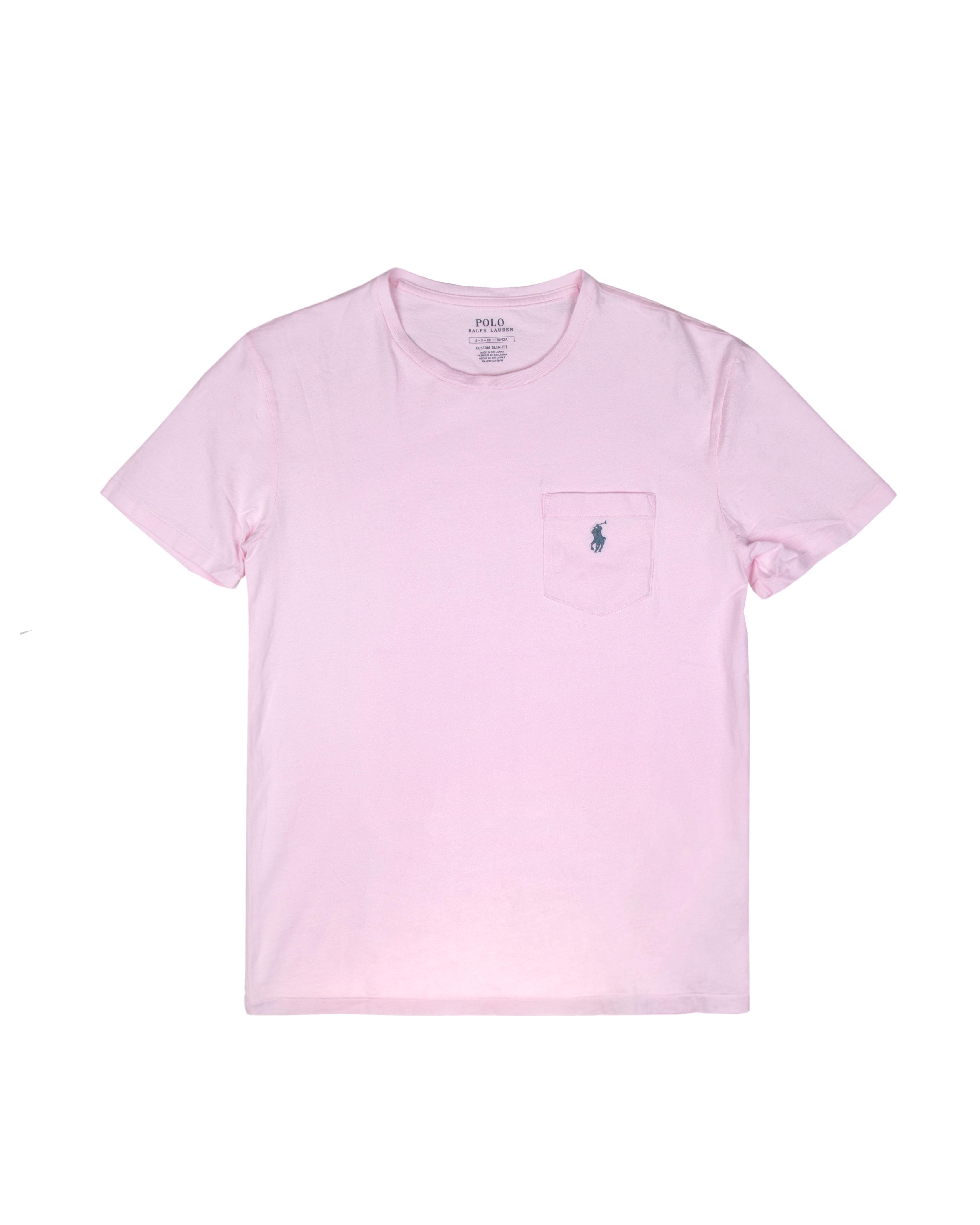 Футболка Ralph Lauren Pocket Carmel Pink Tee