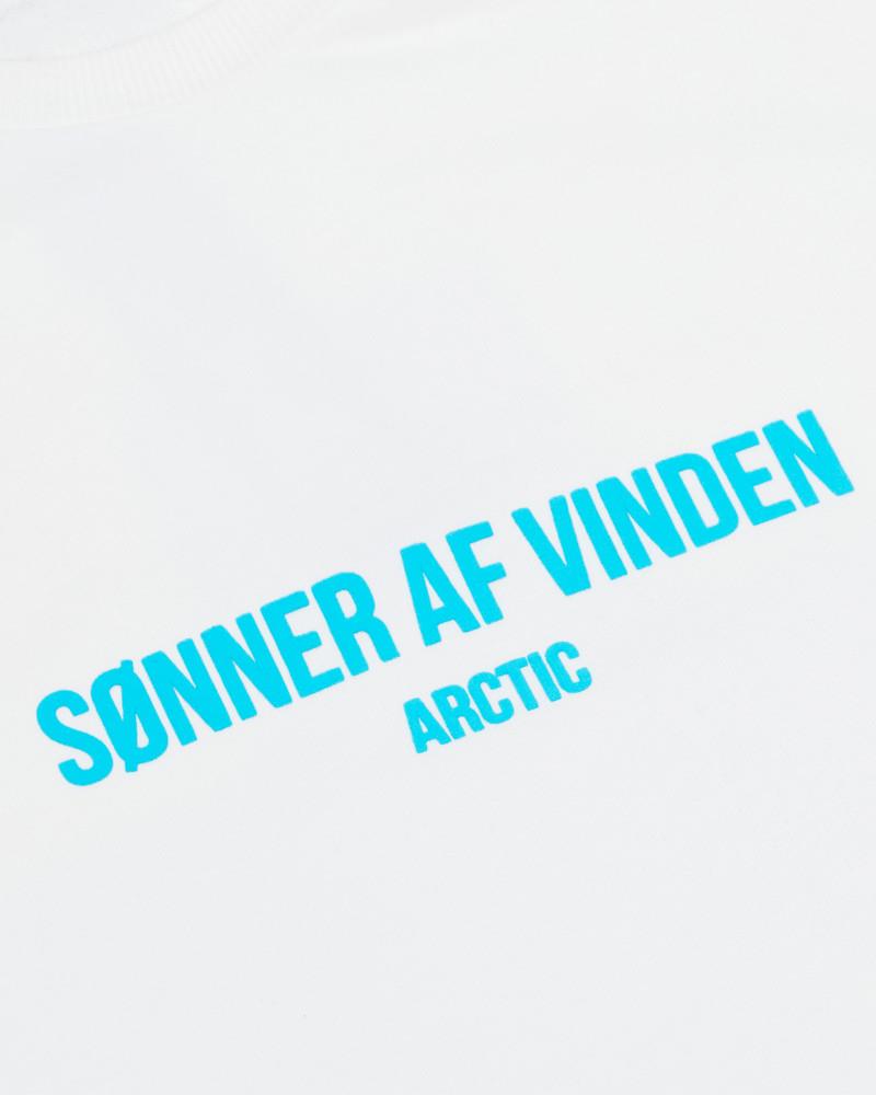 Свитшот Sønner Af-Vinden Iceland Cross White Sweatshirt