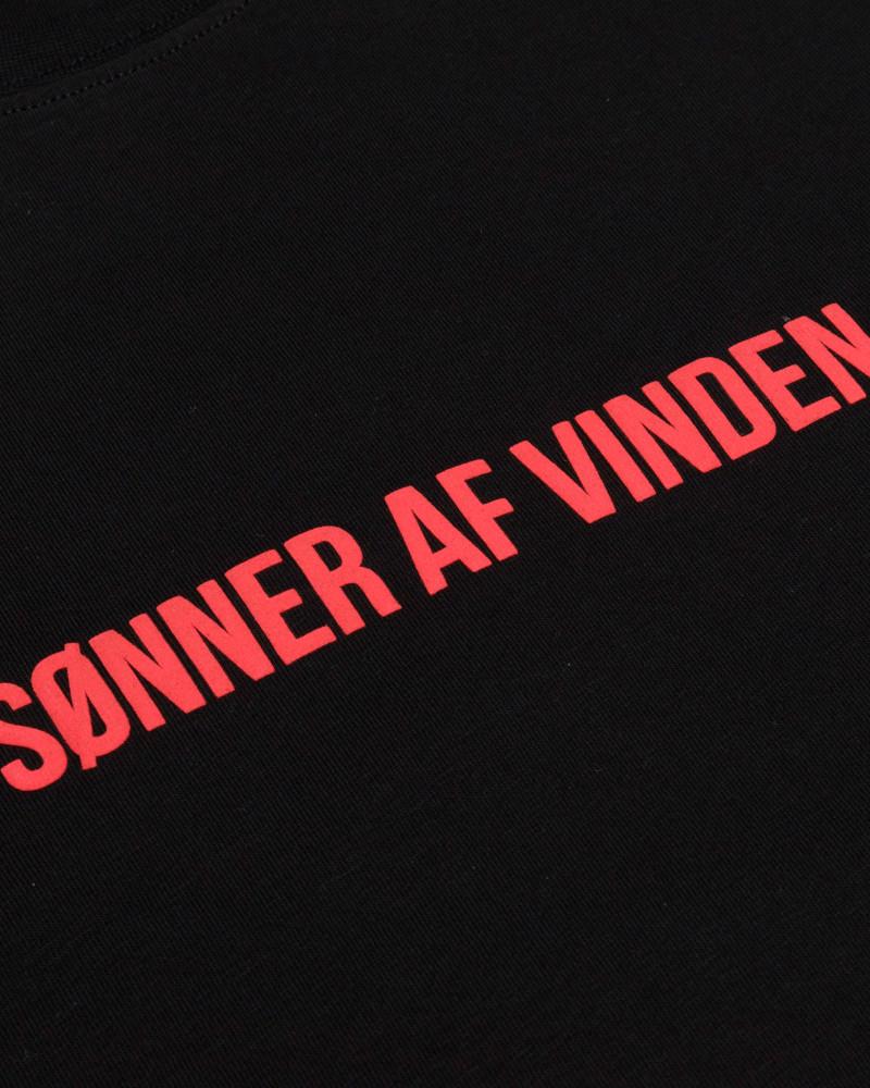 Футболка Sønner Af-Vinden Muspellsheimr Black T-shirt