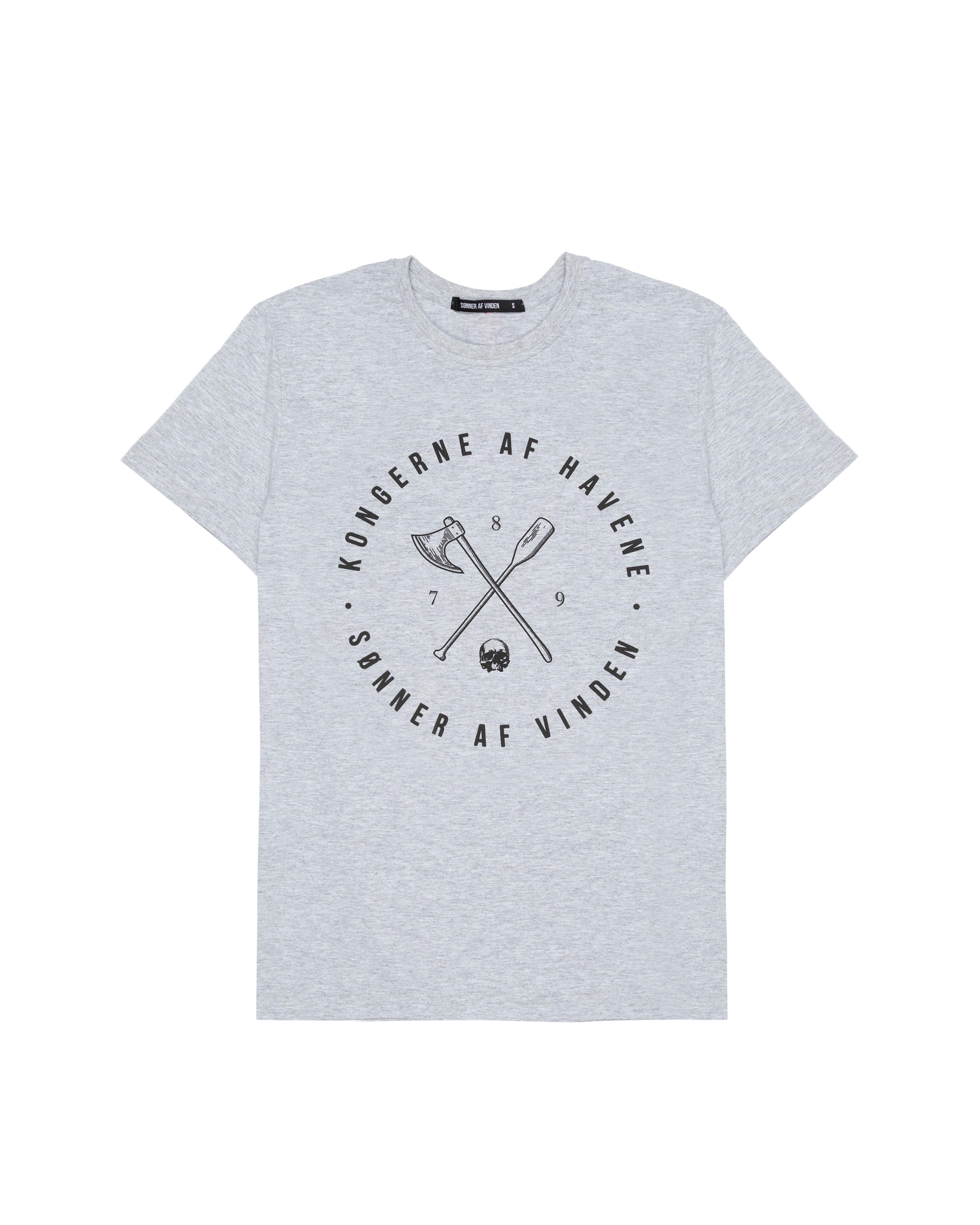 Футболка Sønner Af-Vinden Kongerne Af Havene Grey T-shirt