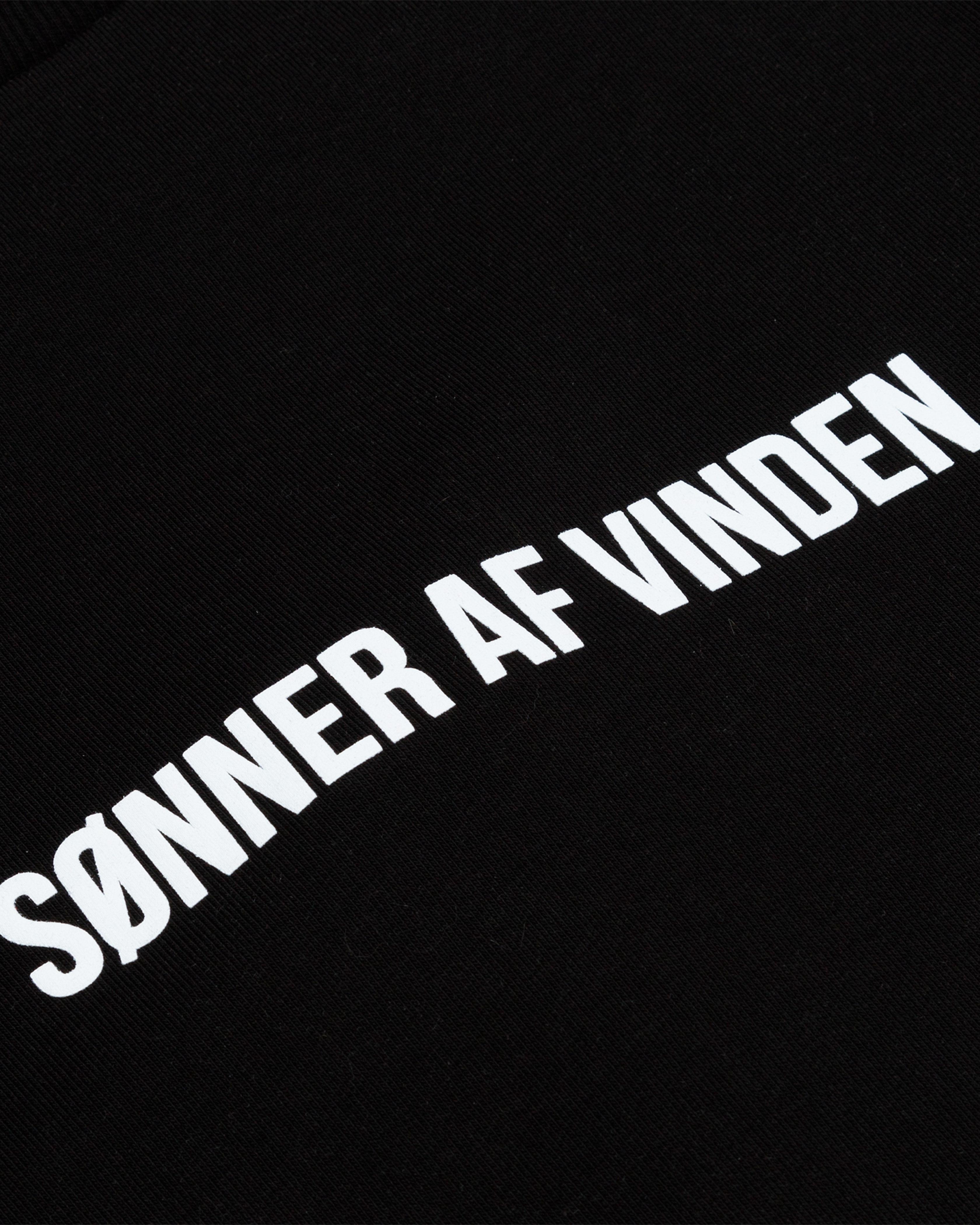 Свитшот Sønner Af-Vinden Nagelfar Black Sweatshirt
