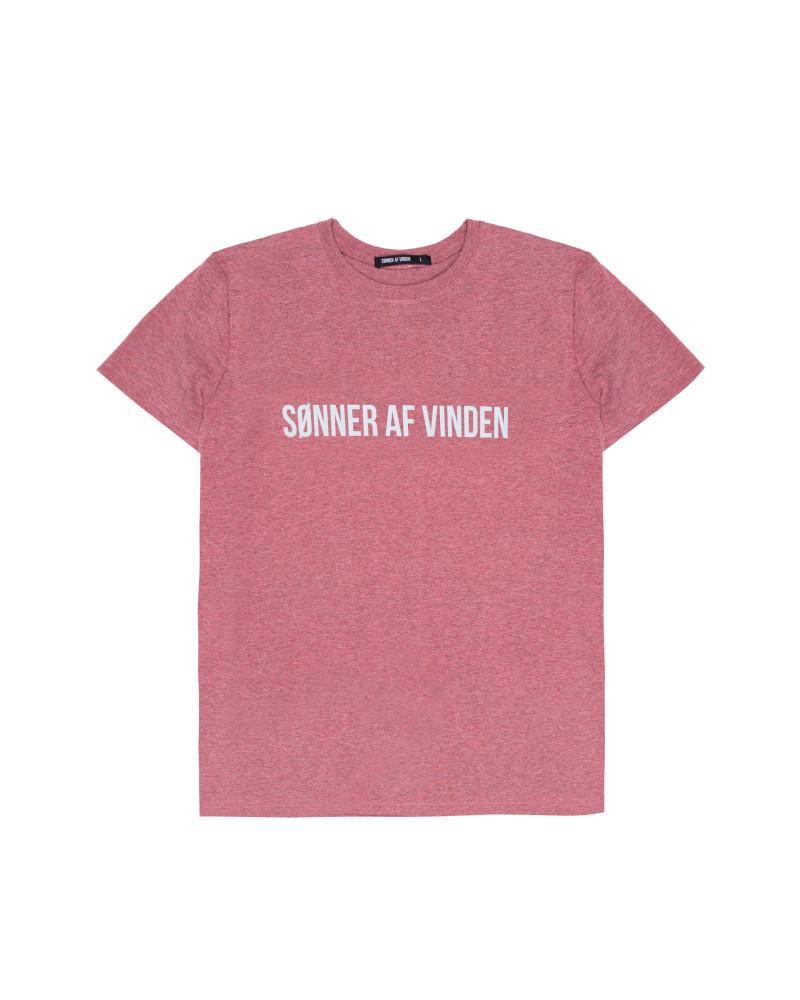 Футболка Sønner Af-Vinden Bar Logo Reflective Wine T-shirt