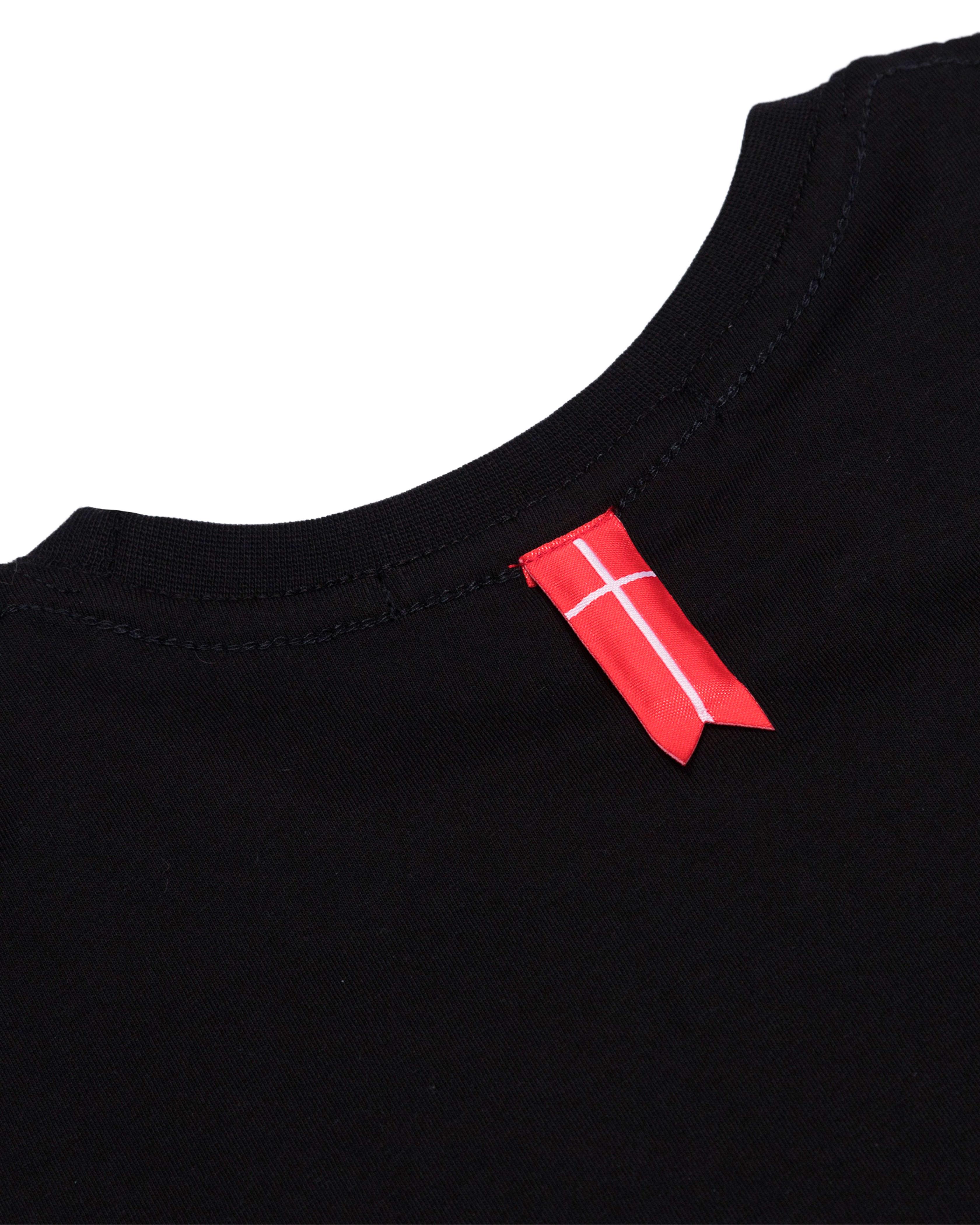 Футболка Sønner Af-Vinden Ragnarokkr Black T-shirt