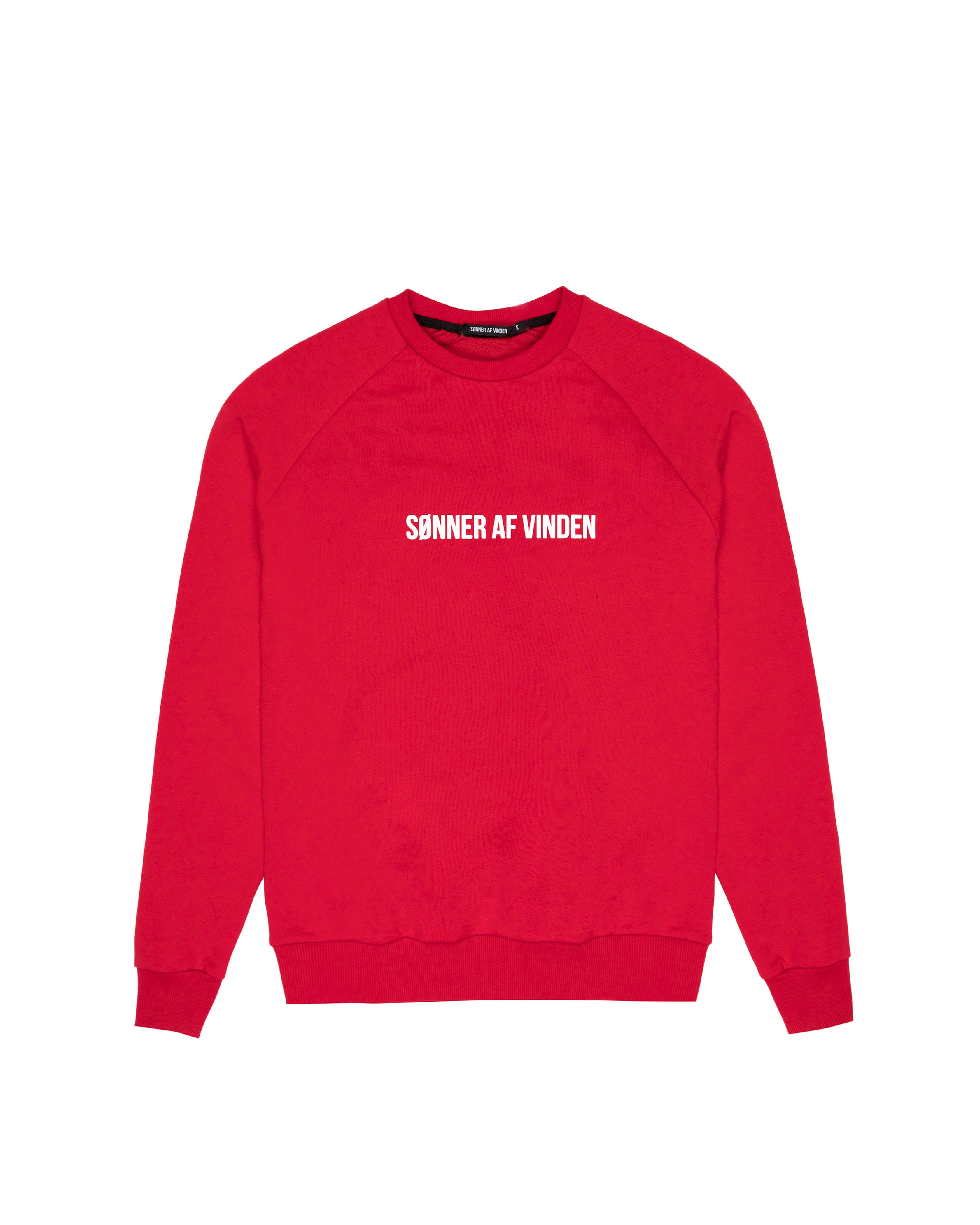 Свитшот Sønner Af-Vinden Lions Red Sweatshirt