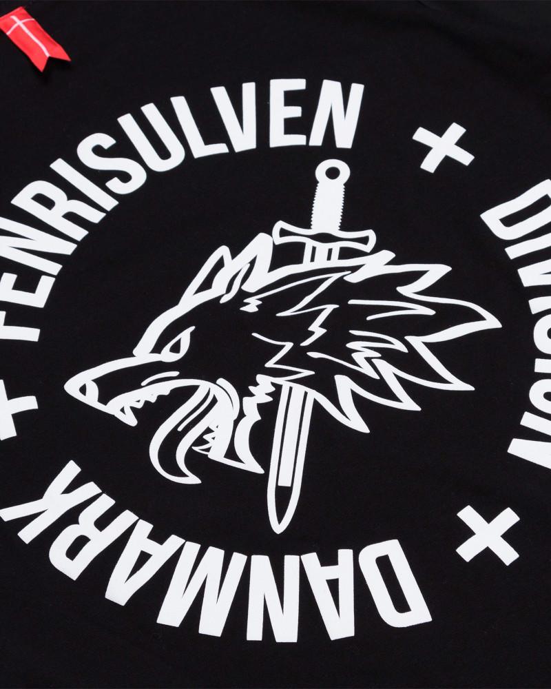 Футболка Sønner Af-Vinden Fenrir Black T-shirt