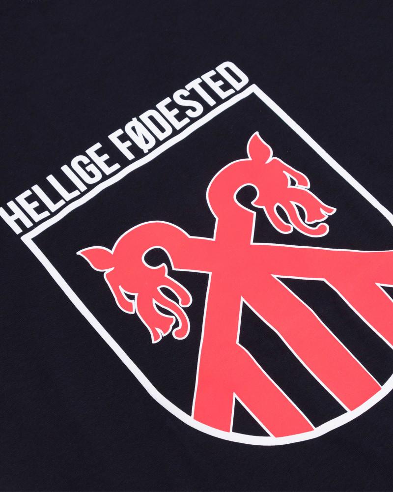 Футболка Sønner Af-Vinden Hellige Fodested Black T-shirt